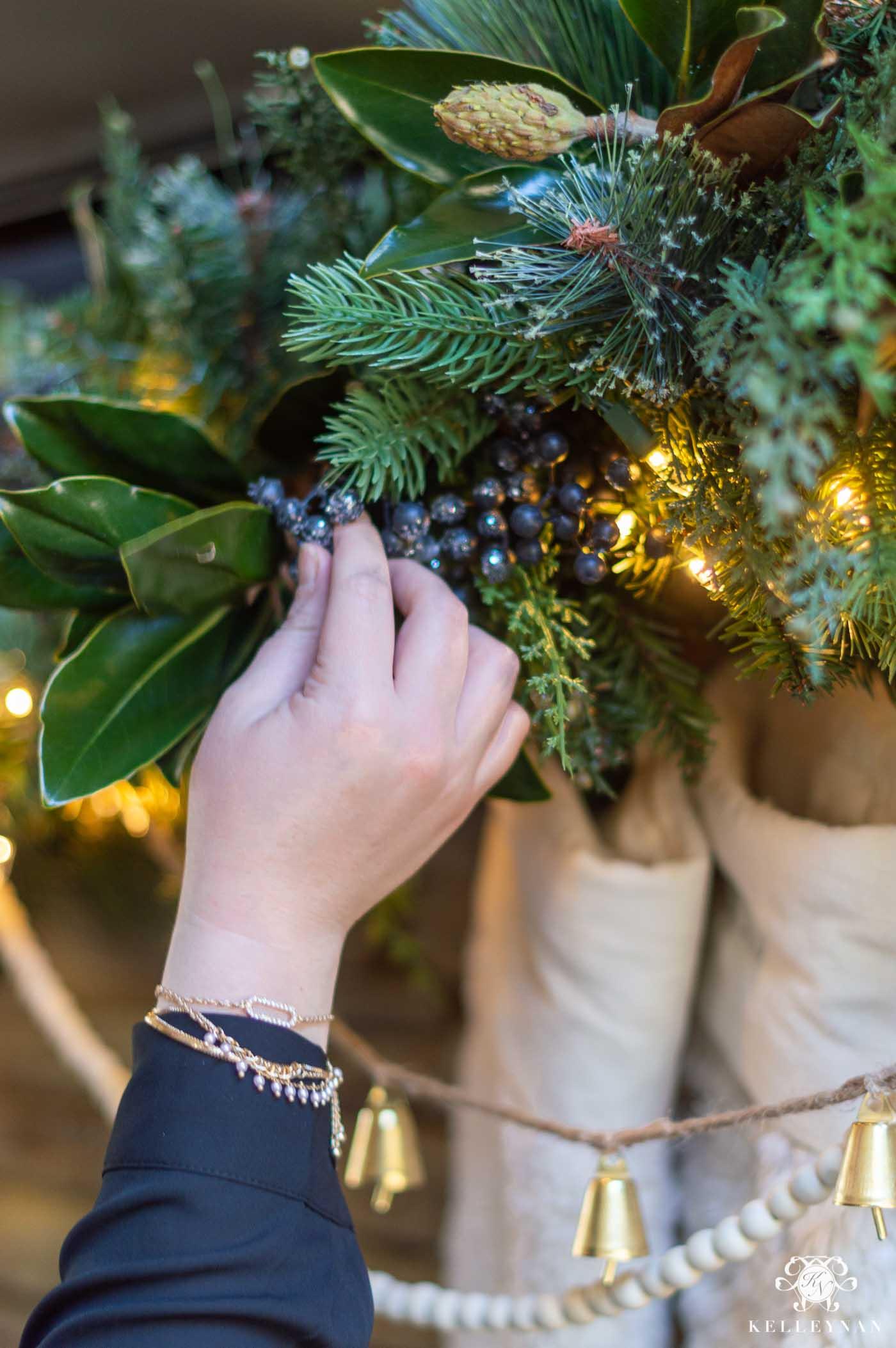 Christmas Mantel Garland Embellishments