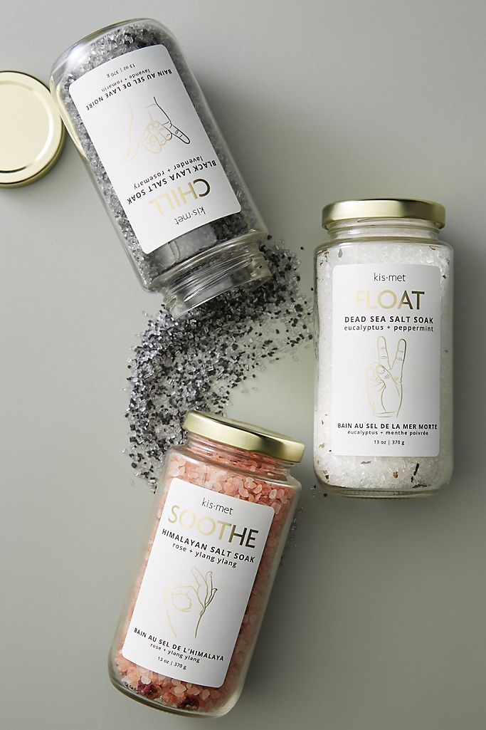 Soaking Salts Gift Idea