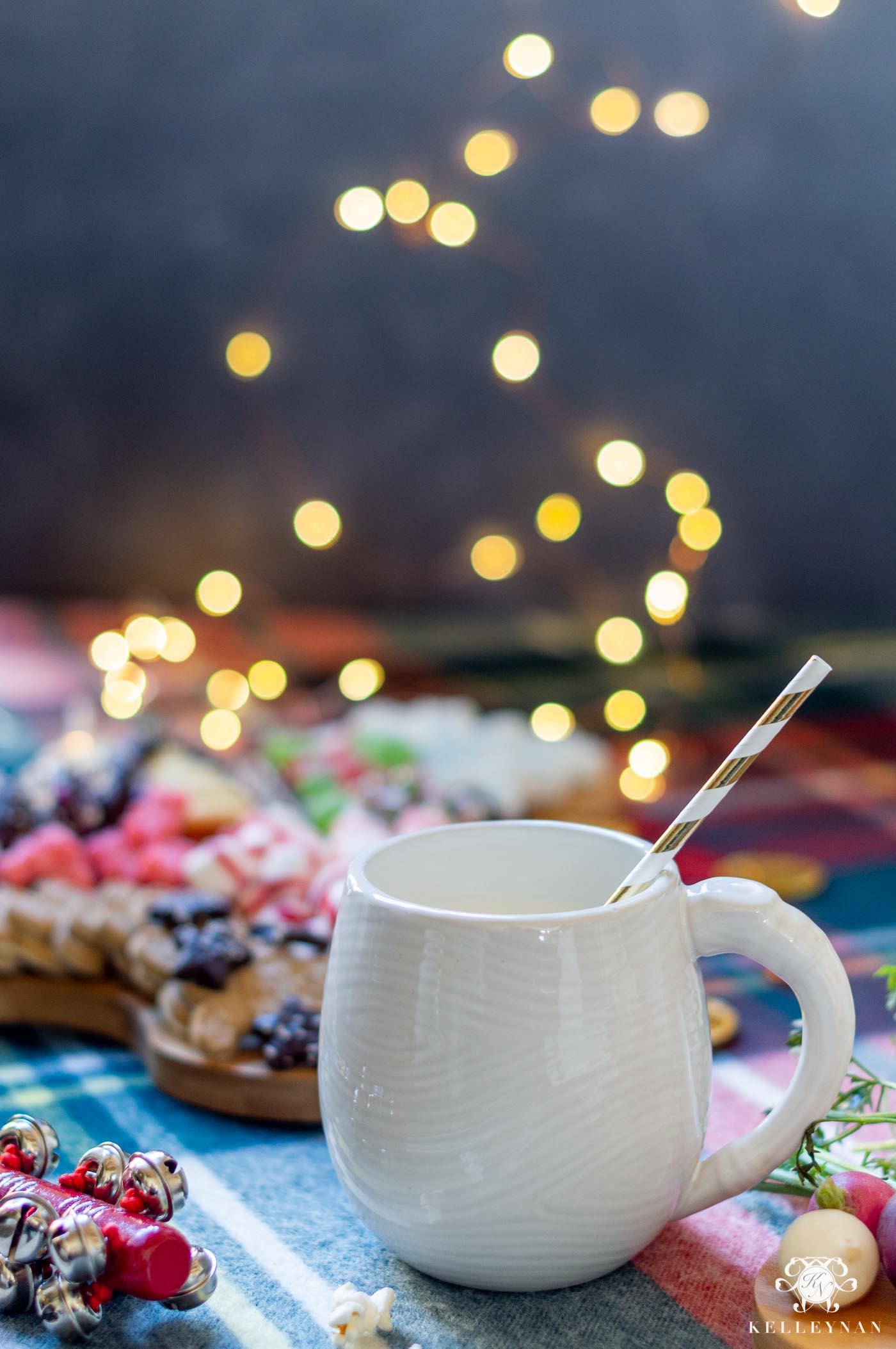 Night Before Christmas Santa and Reindeer Charcuterie Boards -- Cookies for Santa; Veggies for Reindeer!