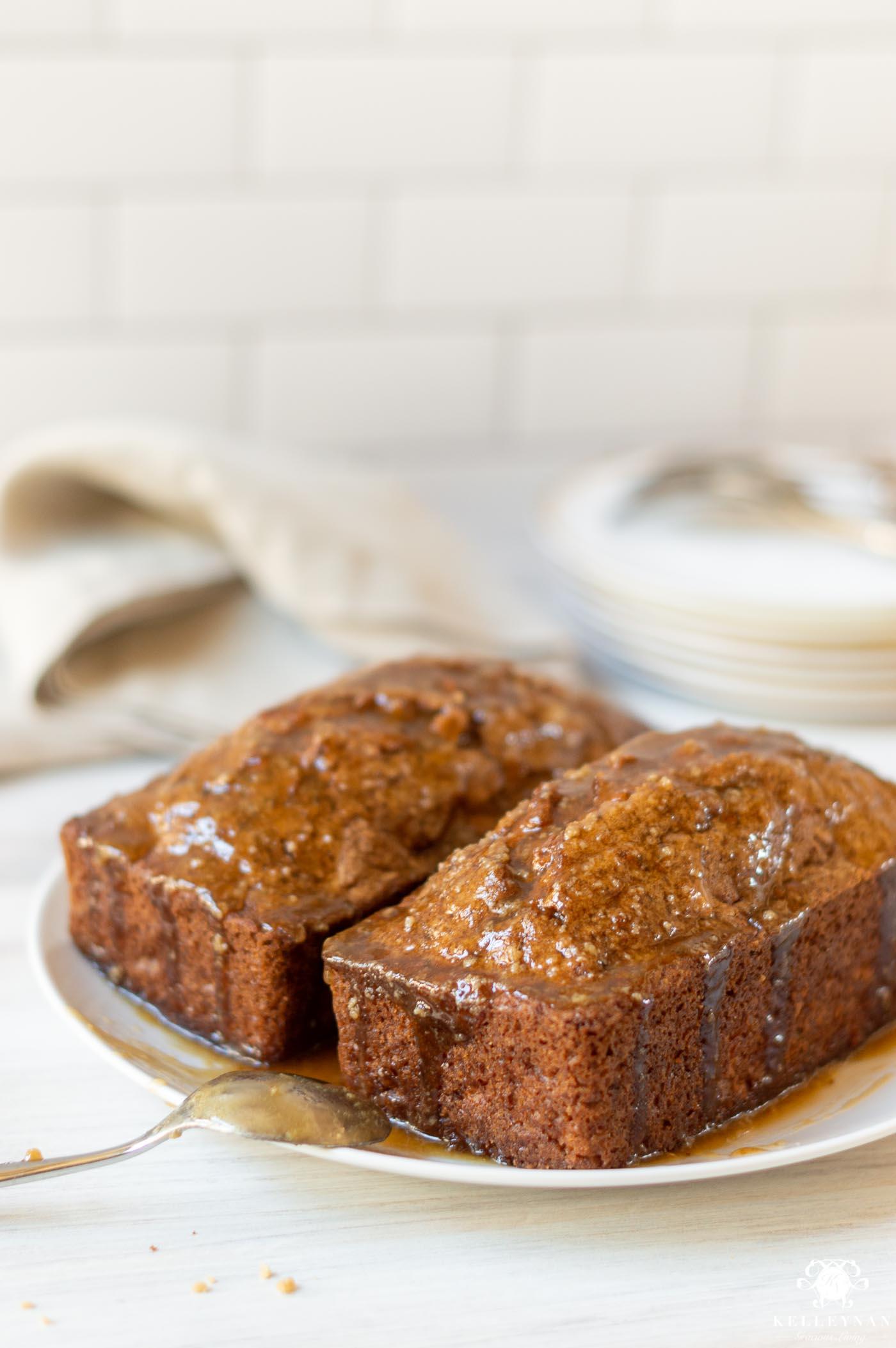Apple Cake with Caramel Glaze Recipe