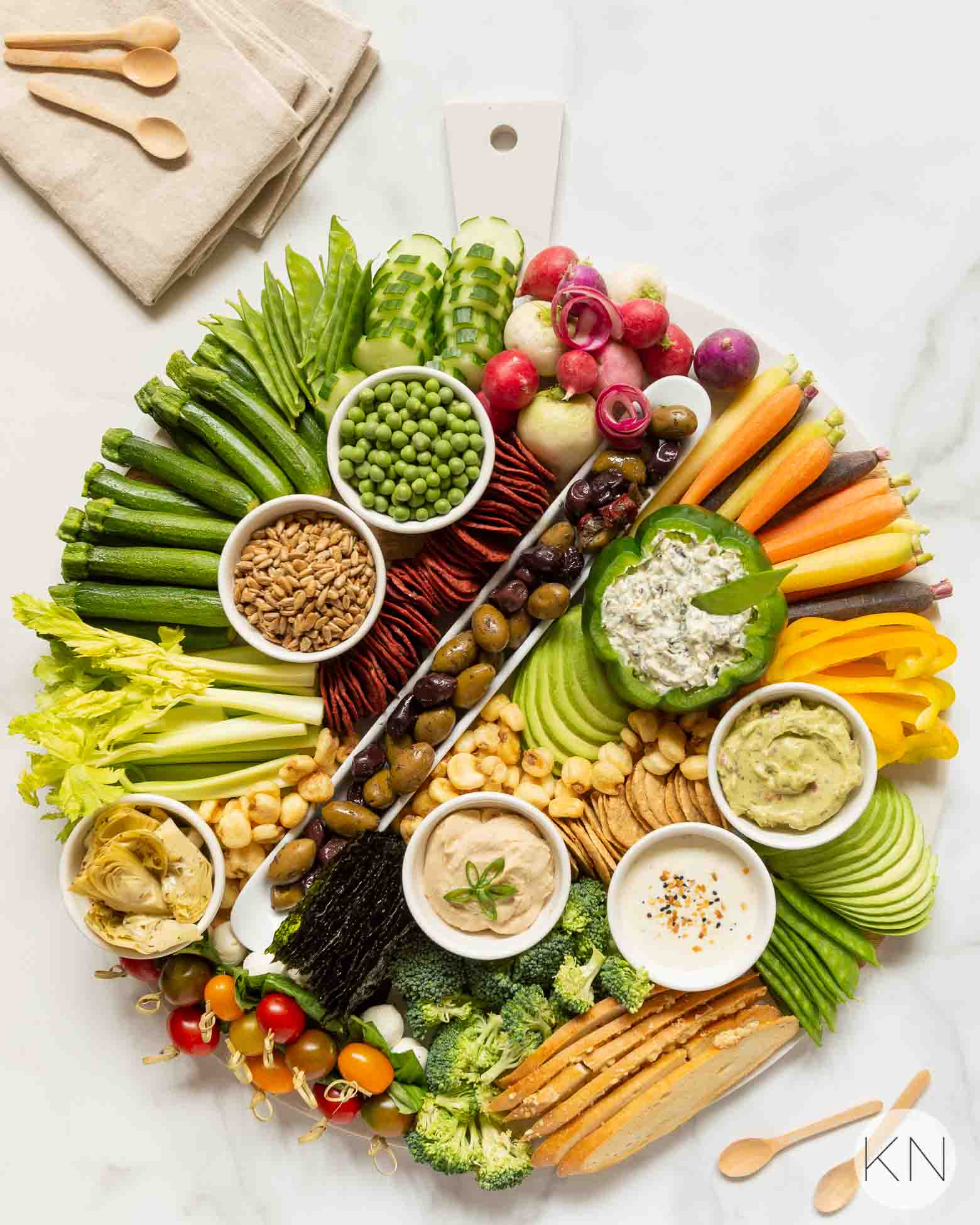 How to Create a Stunning Crudités Board