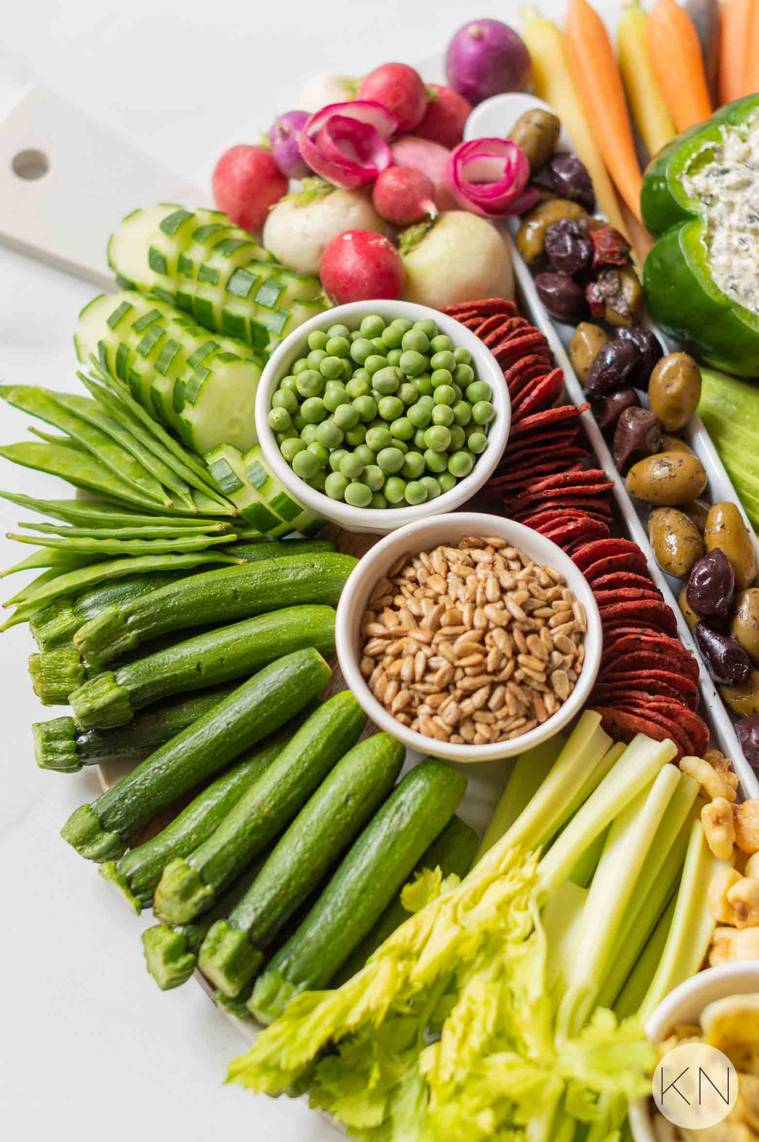 Crudité Board Ideas for Your Next Party, Shower or Get Together