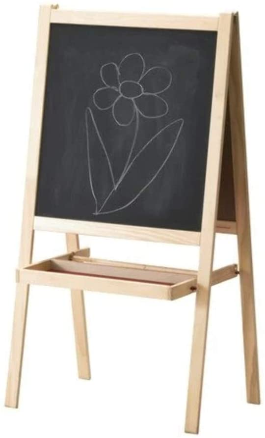 playroom blackboard and art easel