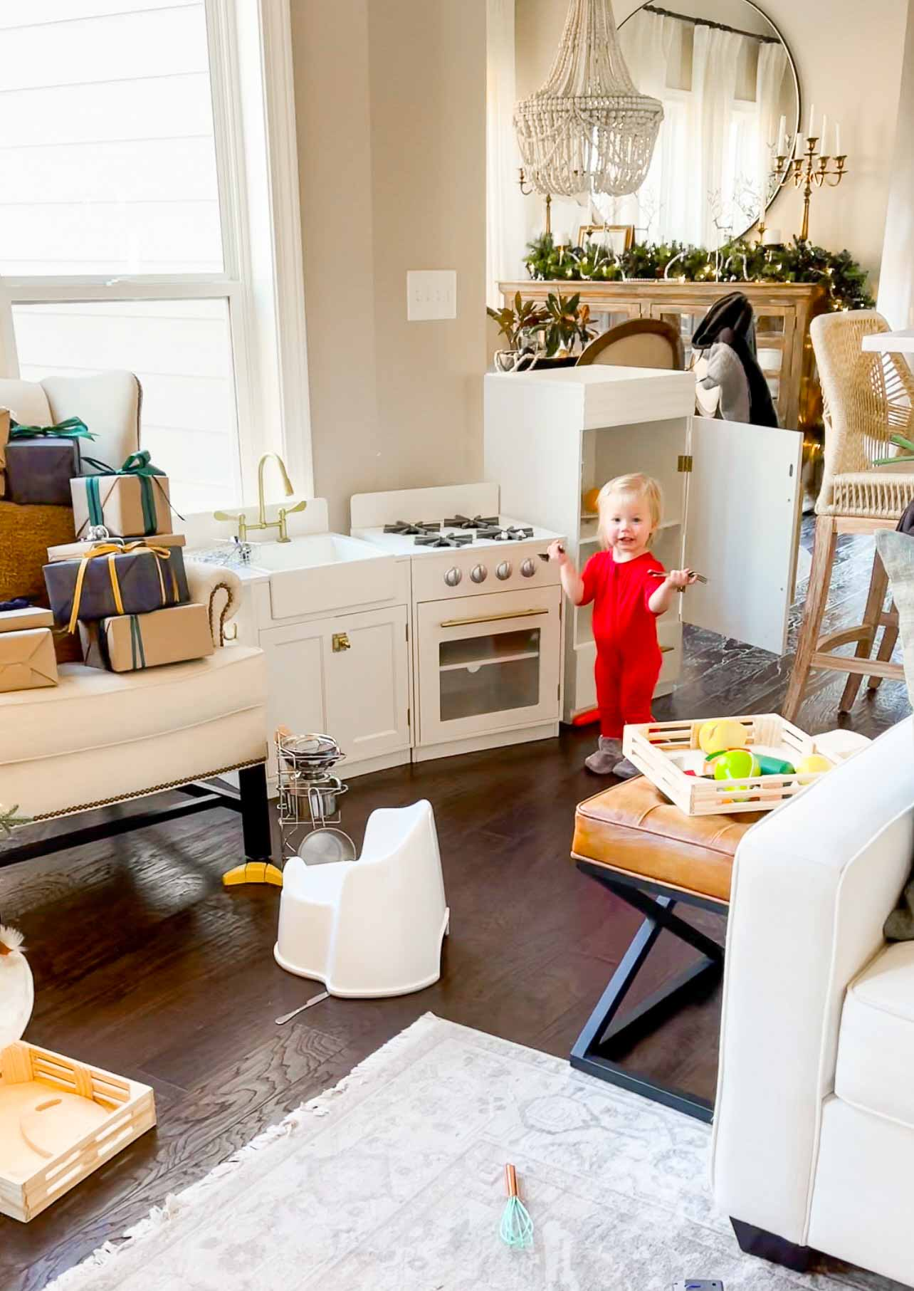 pb chelsea kitchen for playroom