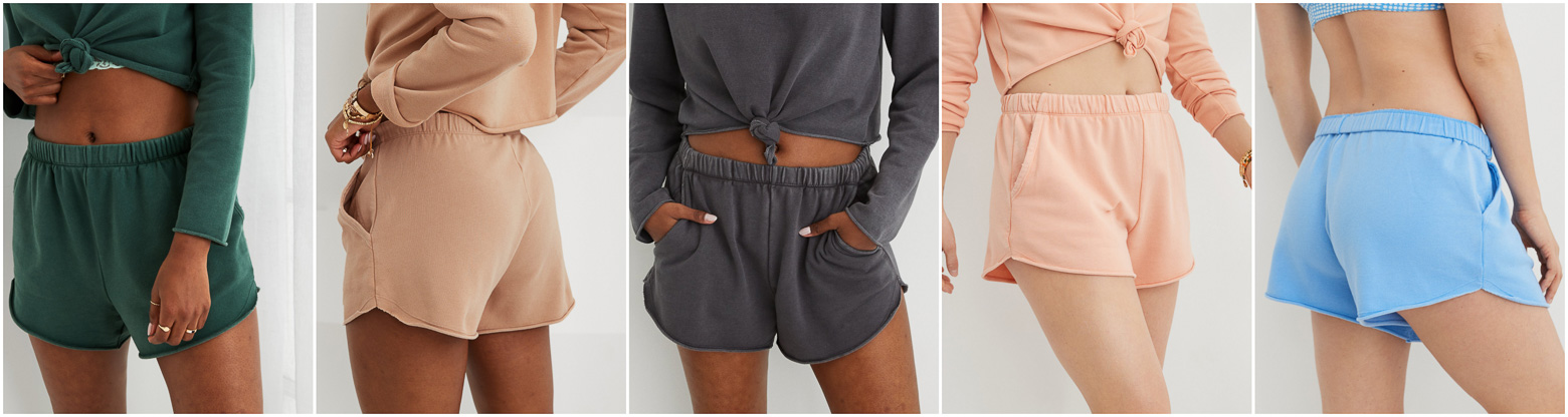 Comfiest Sweat Shorts from AE