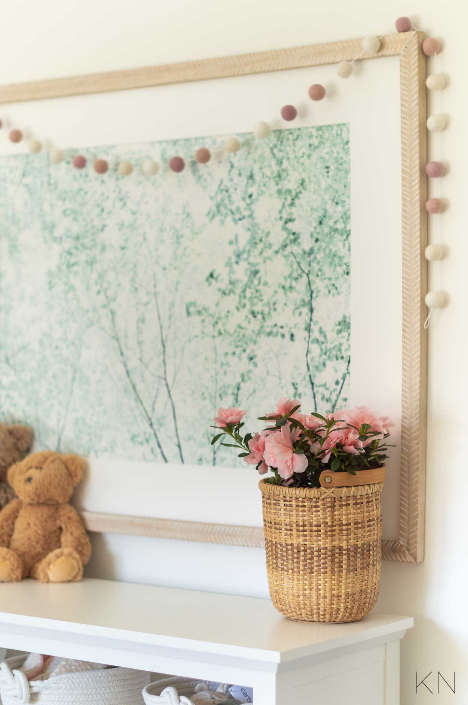 Pink Nursery Decor for a Baby Girl