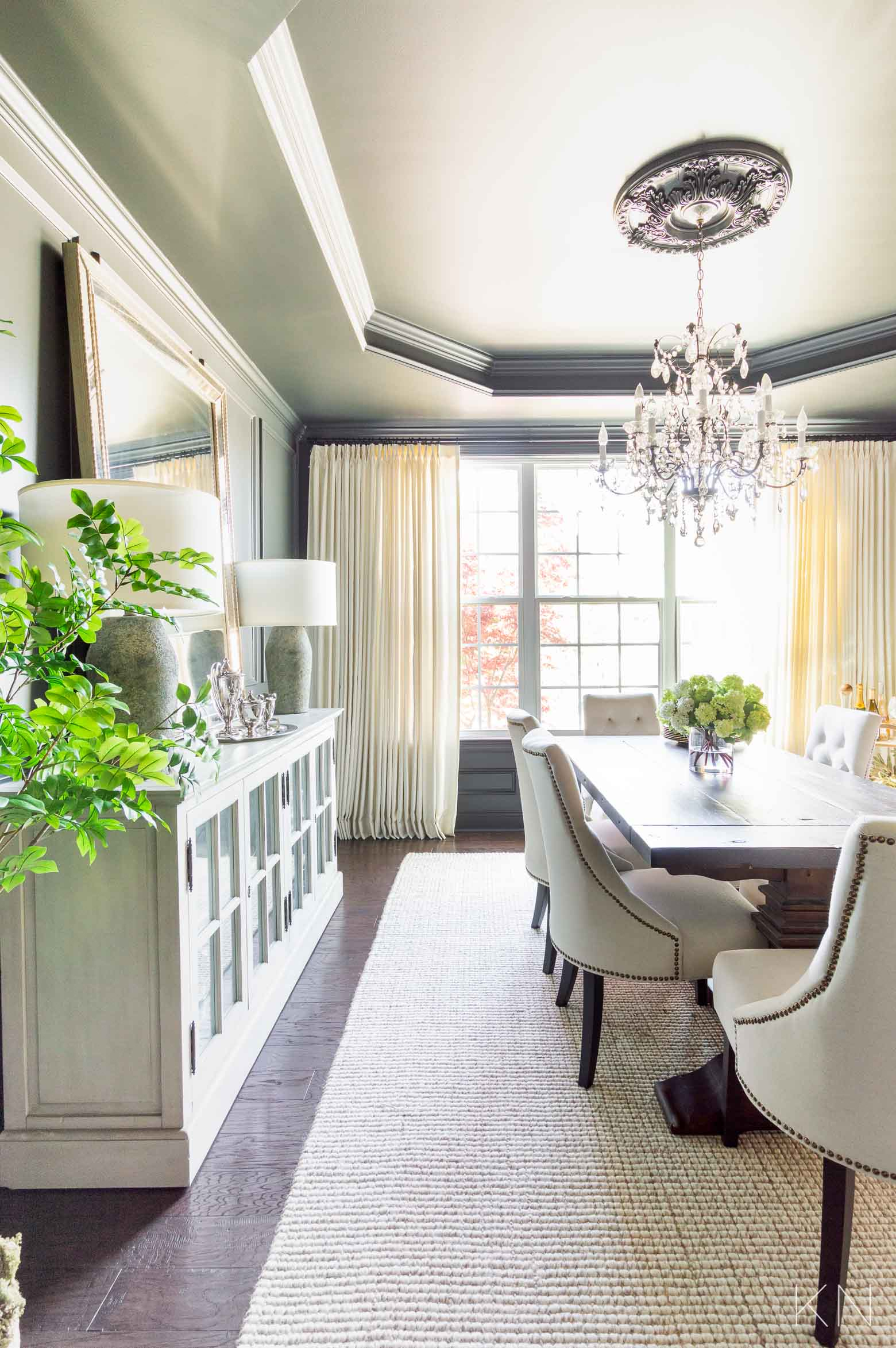 Dining Room Makeover Before and After!