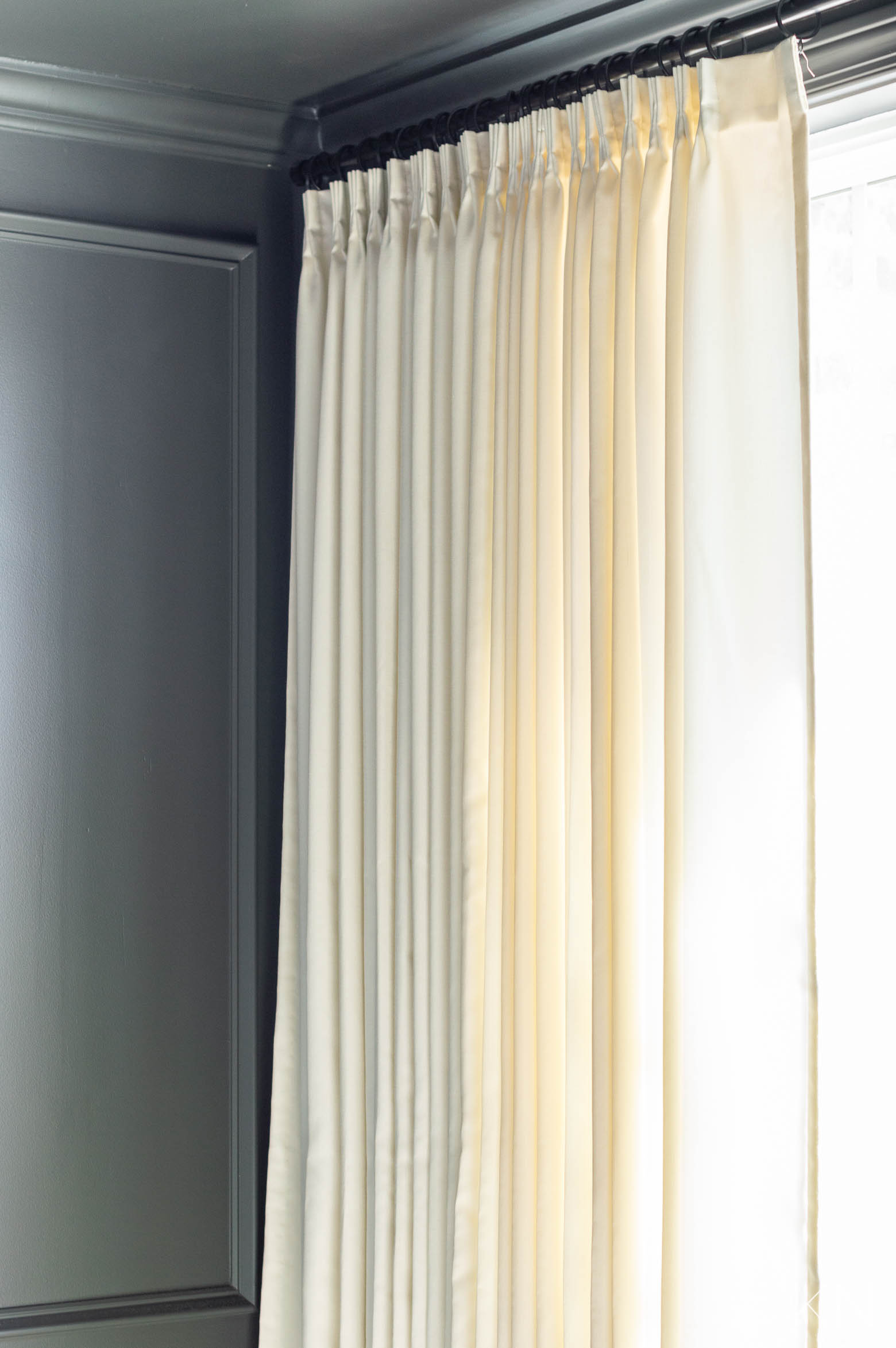 Custom Window Curtains for the Dining Room