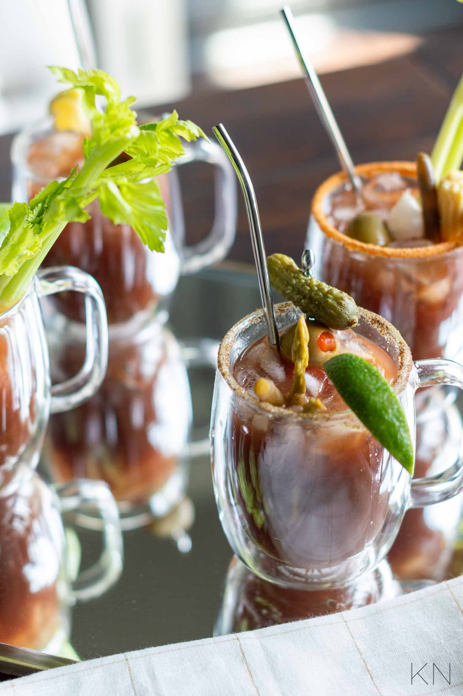 TONS of Bloody Mary Garnish Ideas to Create the Yummiest, Best Bloody Marys