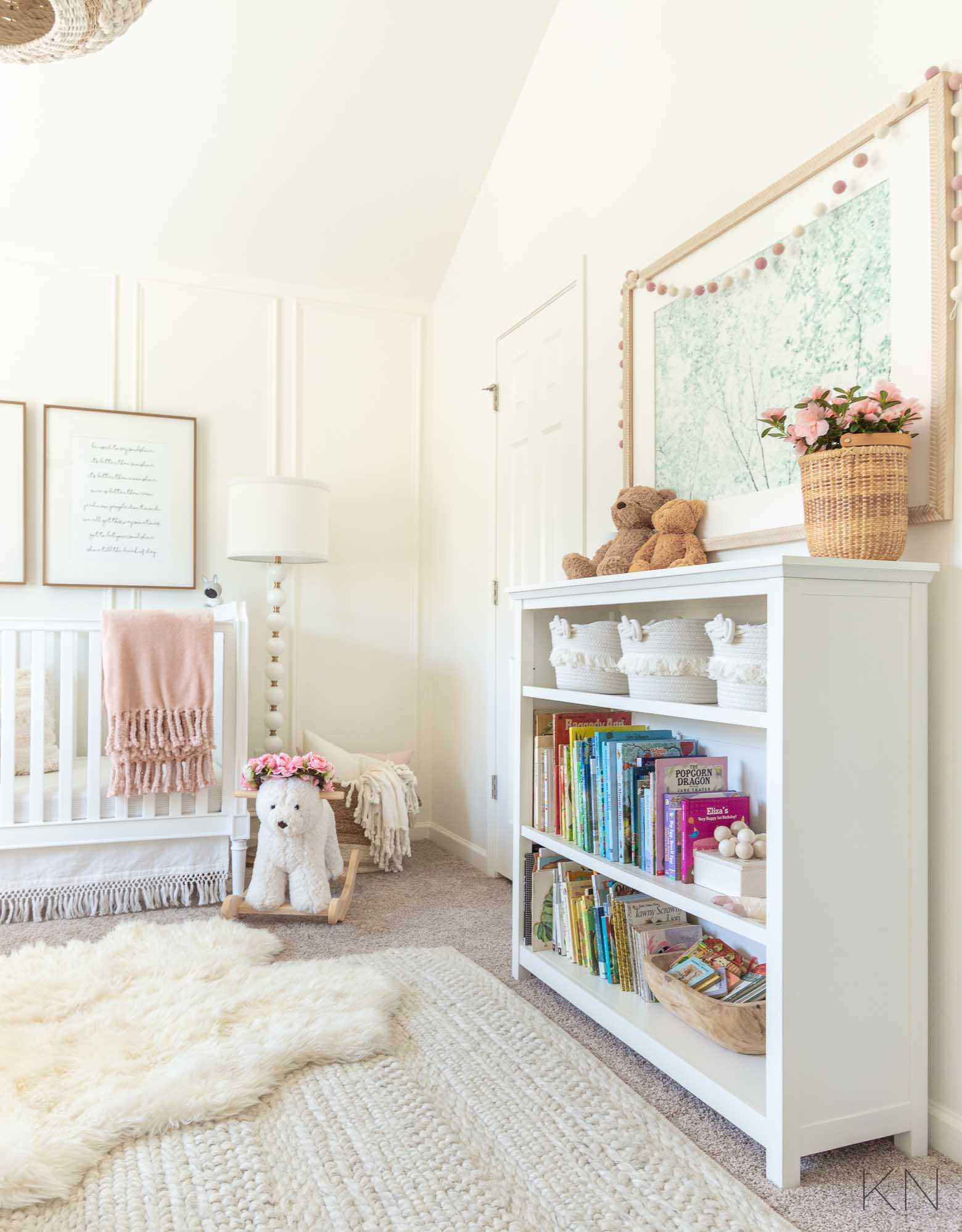 Pink Nursery Ideas for a Baby Girl