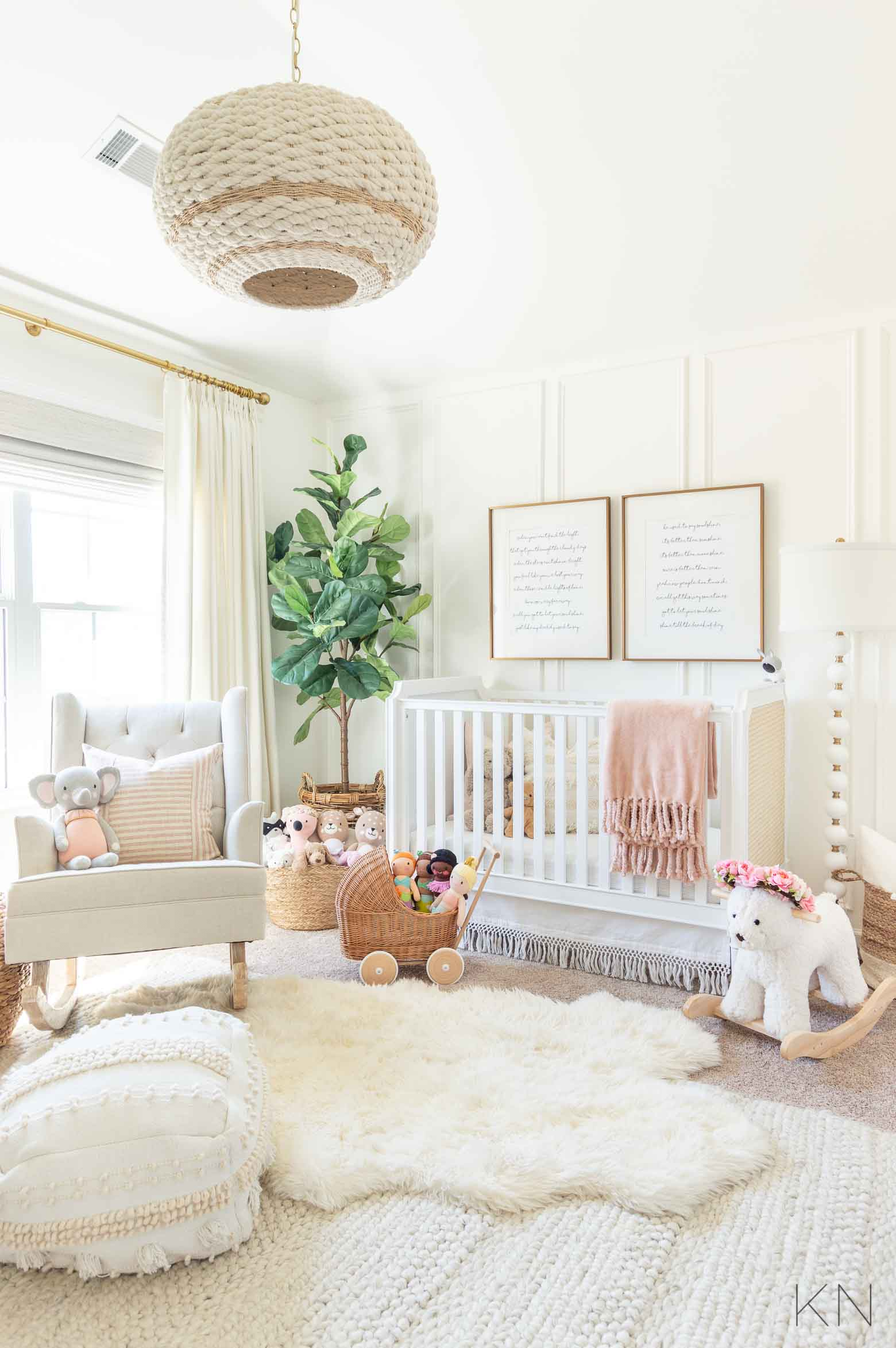 Pink Nursery Decor and Ideas for a Pink Baby Room