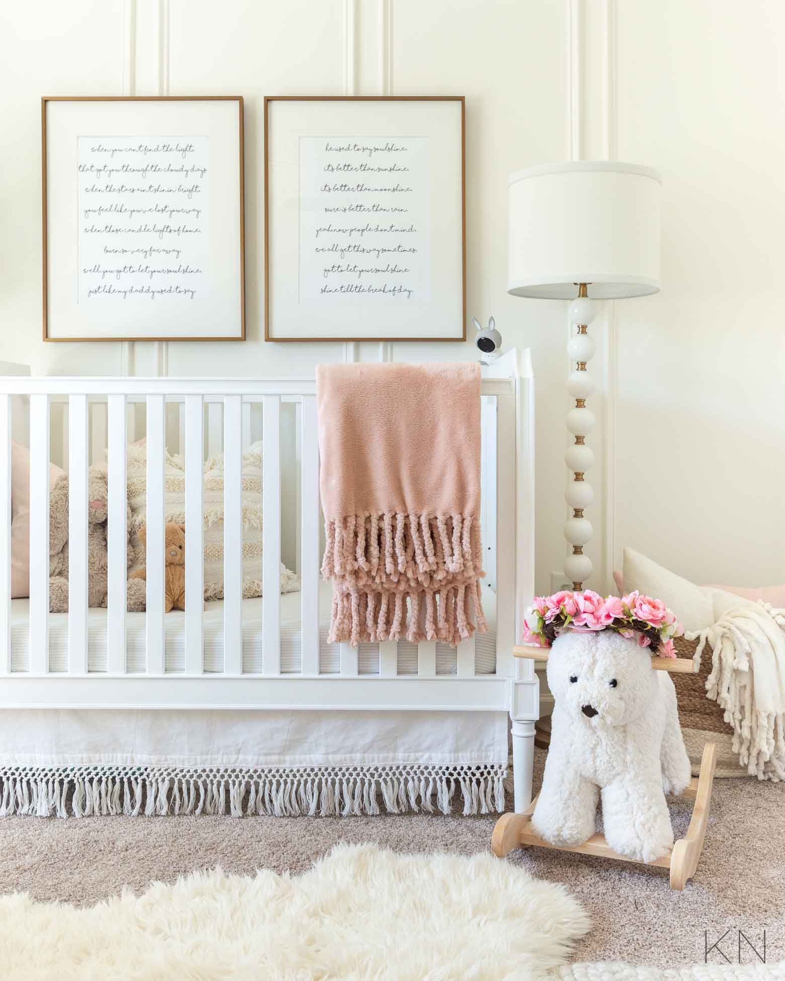 Pink Nursery Inspo and Ideas for Blush Nursery Decor