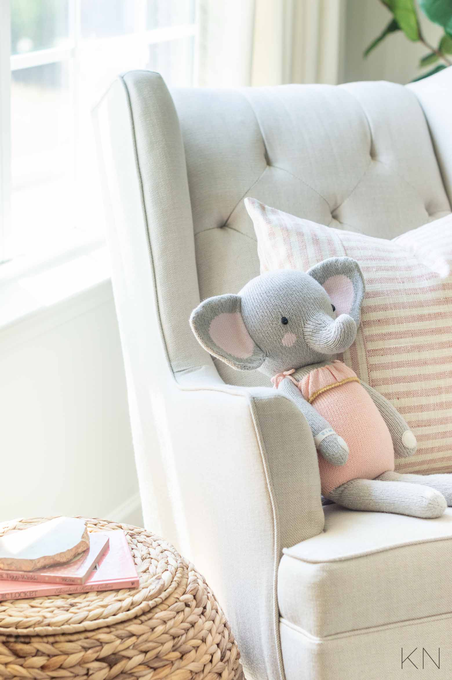 Pink Nursery Decor and Ideas for a Blush Baby Girl Room