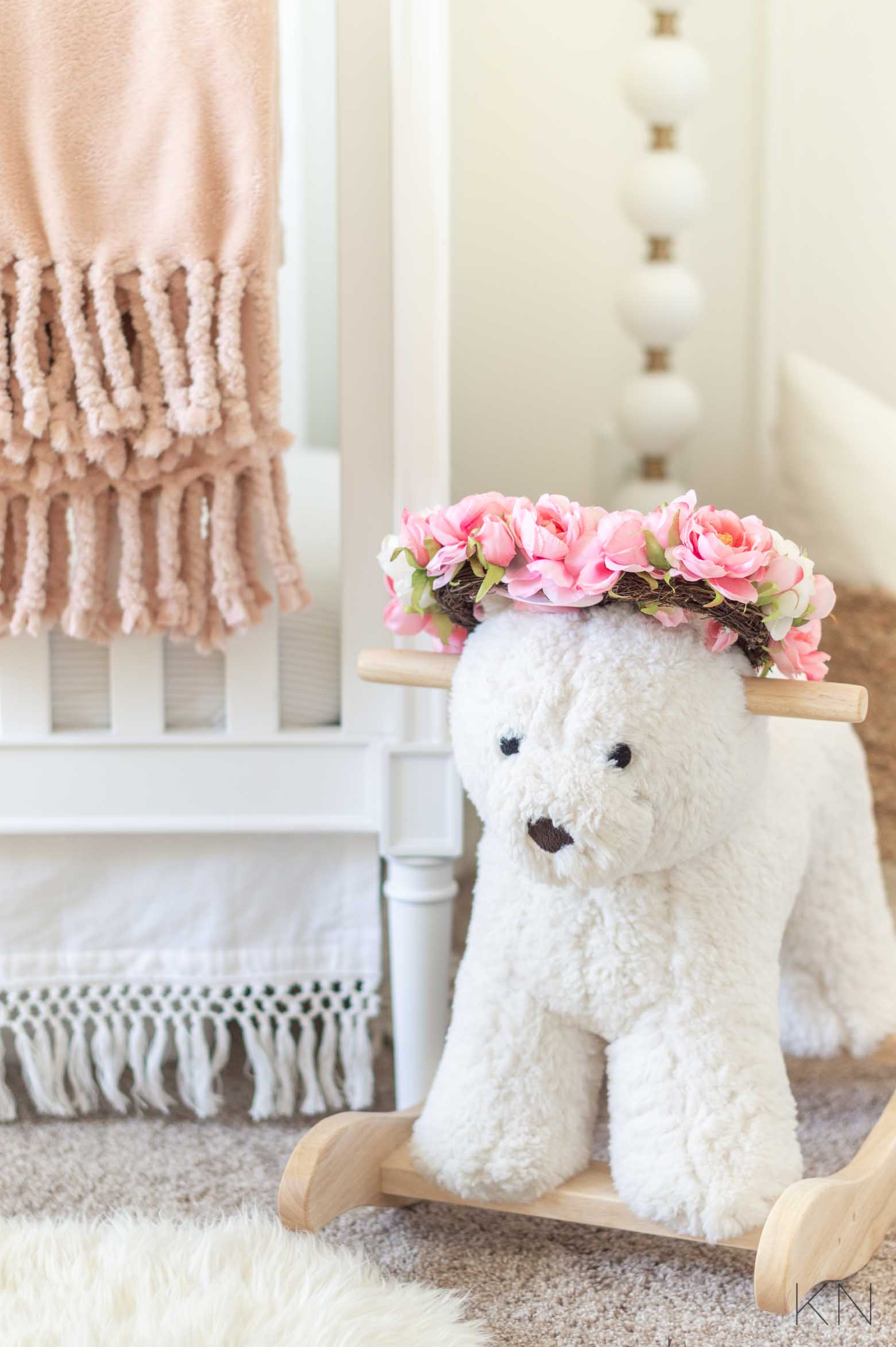 Pink Decor for a Baby Girl Nursery