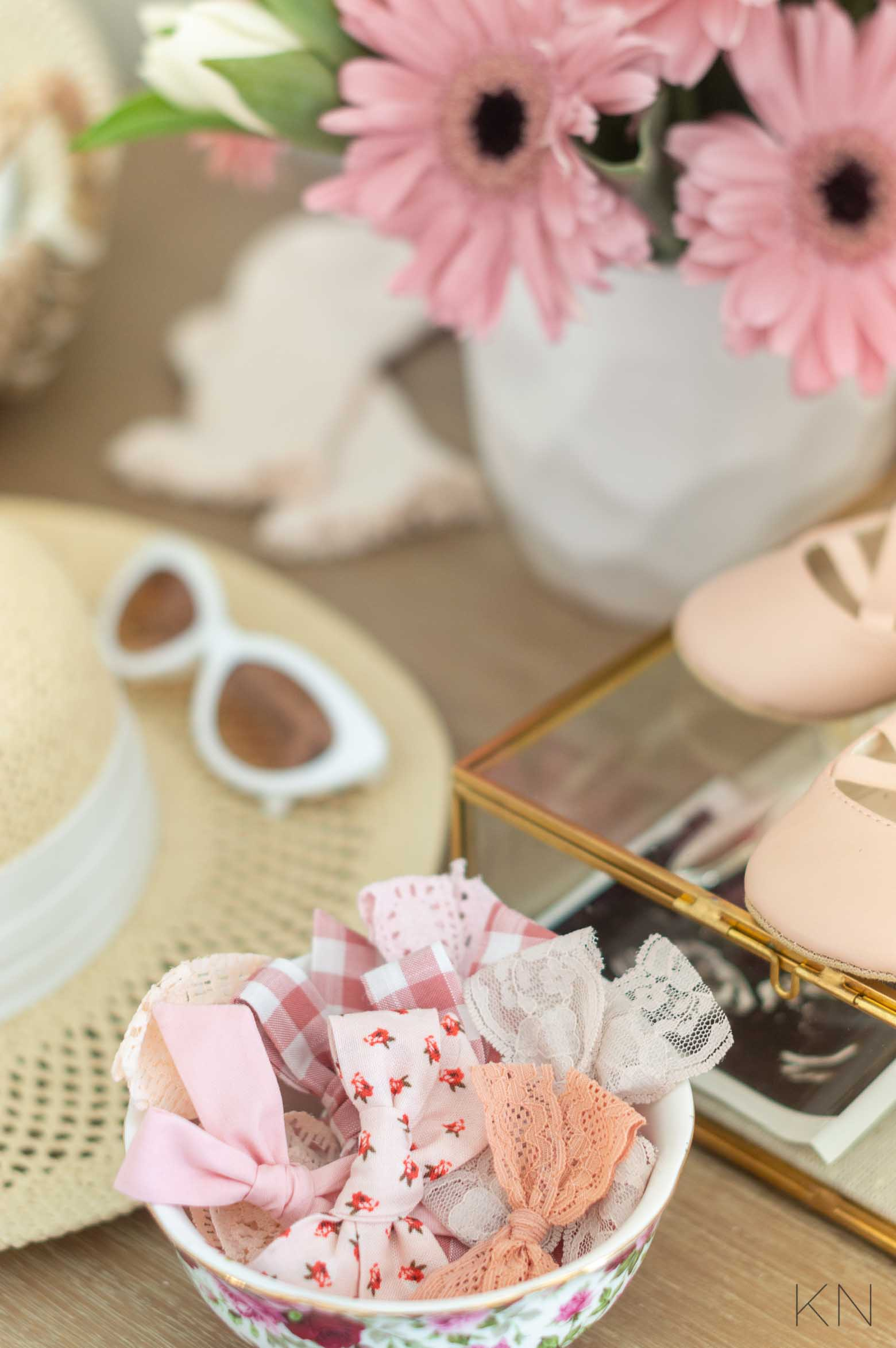 Pink Decor for a Baby Girl Nursery with Blush Accents