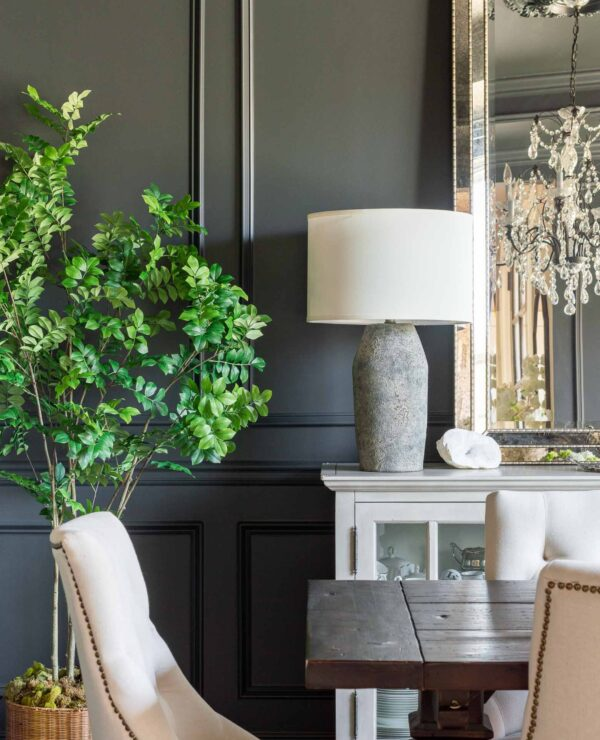 Dining Room Makeover Reveal -- While Keeping the Same Furnishings!