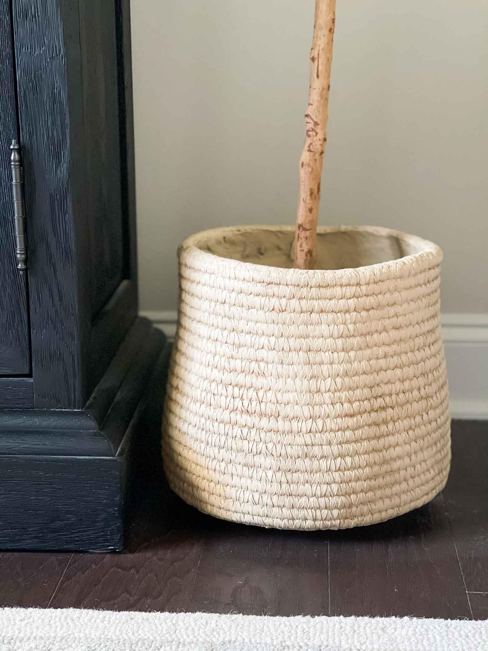 Inexpensive Basket Planters