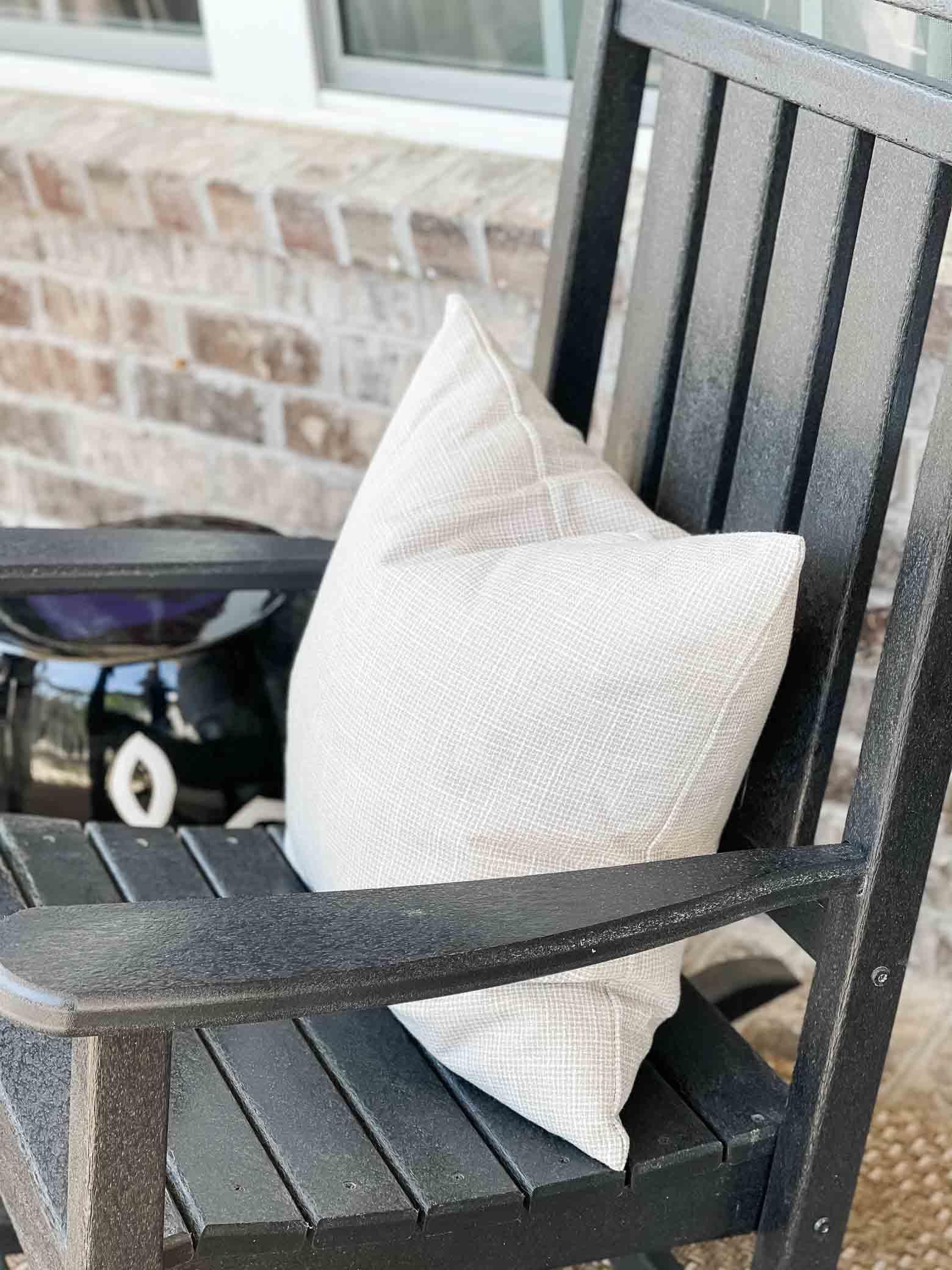 Inexpensive Porch Pillows