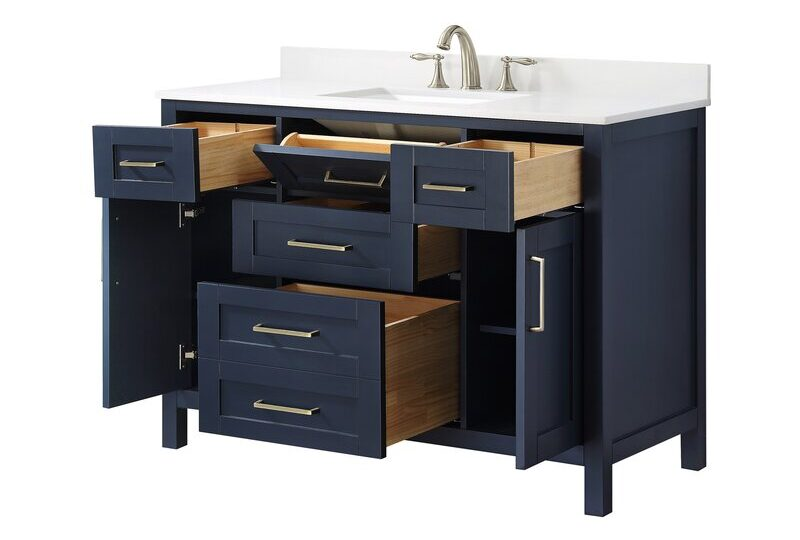 "48"" Bathroom Vanities with Tons of Smart Storage"