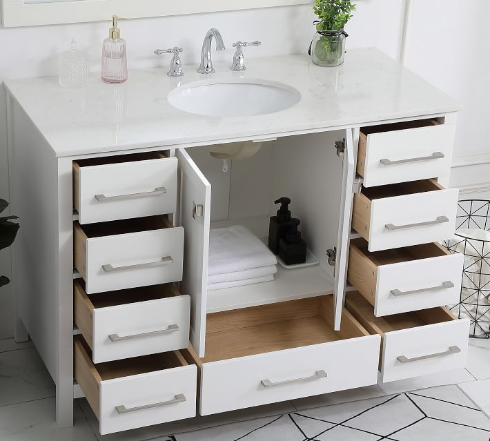 "48""-55"" Single Sink Bathroom Vanities for Master Bathrooms"