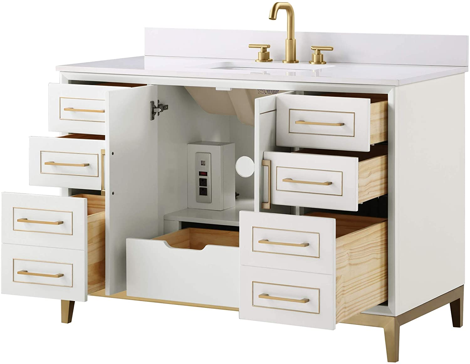 "48"" Vanities with Tons of Storage and Features"