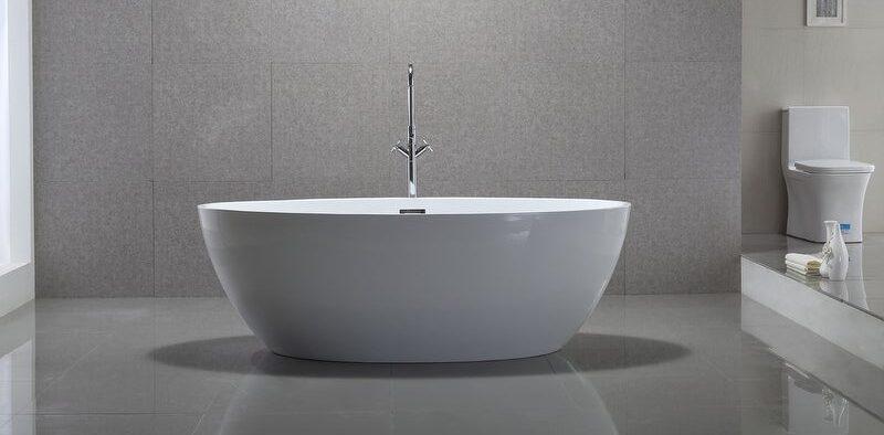 Small Freestanding Tub for Small Bathroom