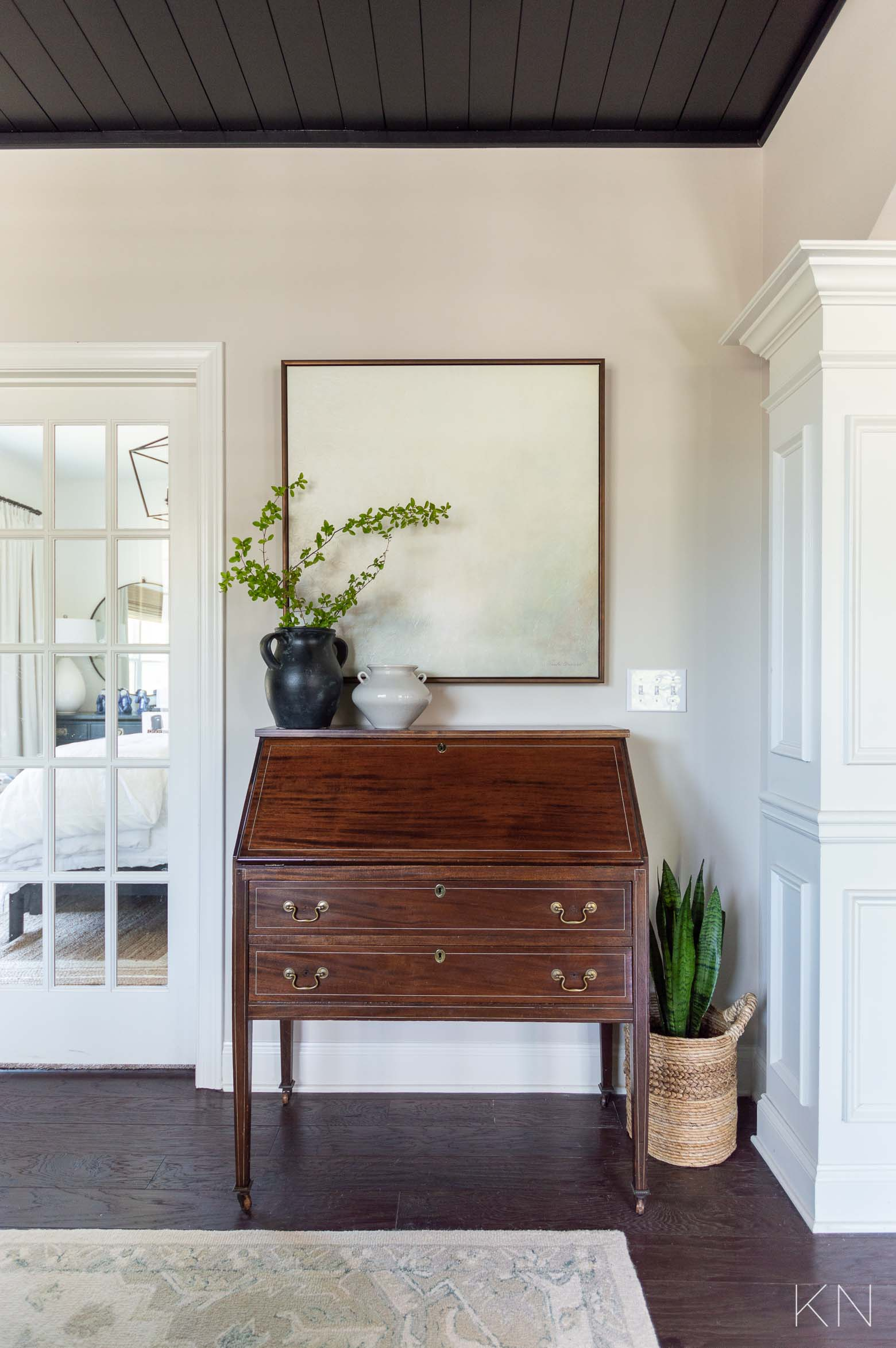 How to Use Antique Pieces in Modern and Transitional Decor