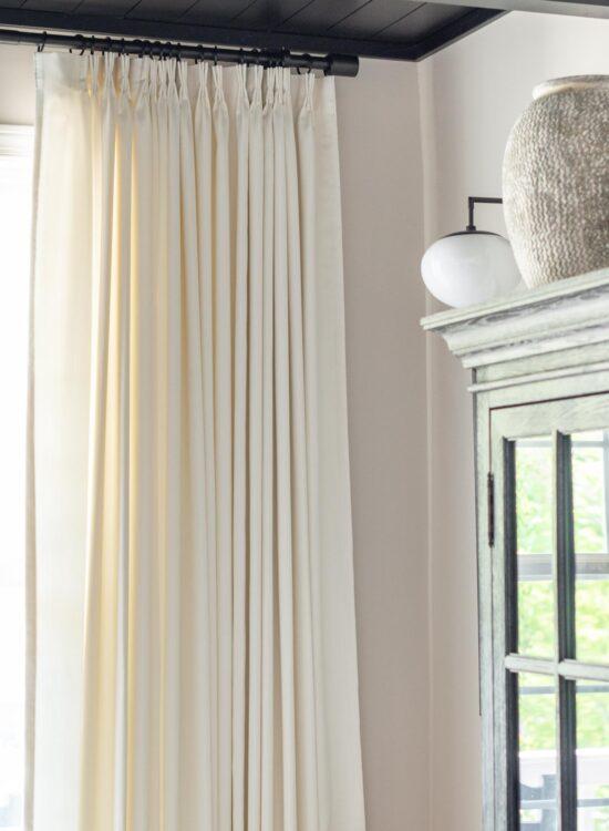 Best Custom Pleated Drapes- for Casual or Formal Rooms