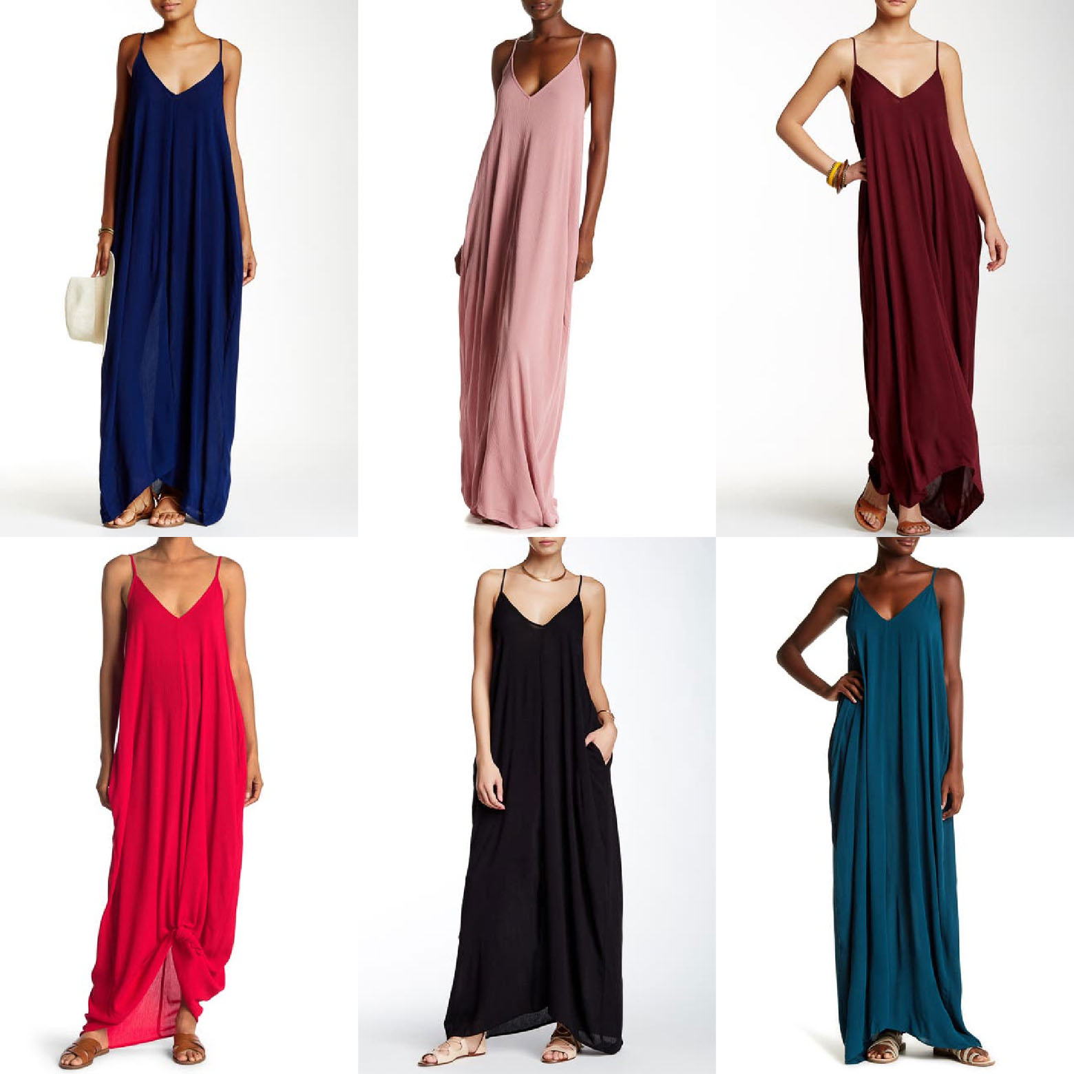 Perfect Inexpensive Maxi Dress for a Beach Vacation