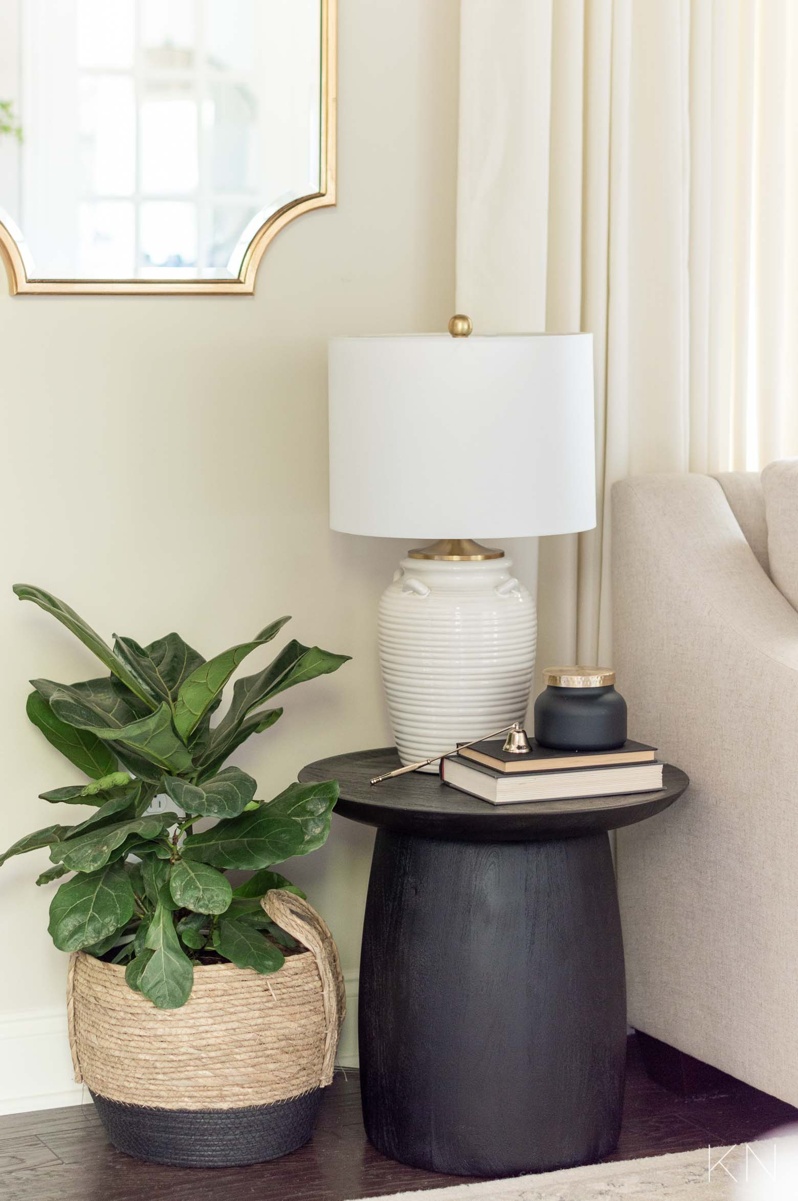Small Accent Table for a Small Living Room