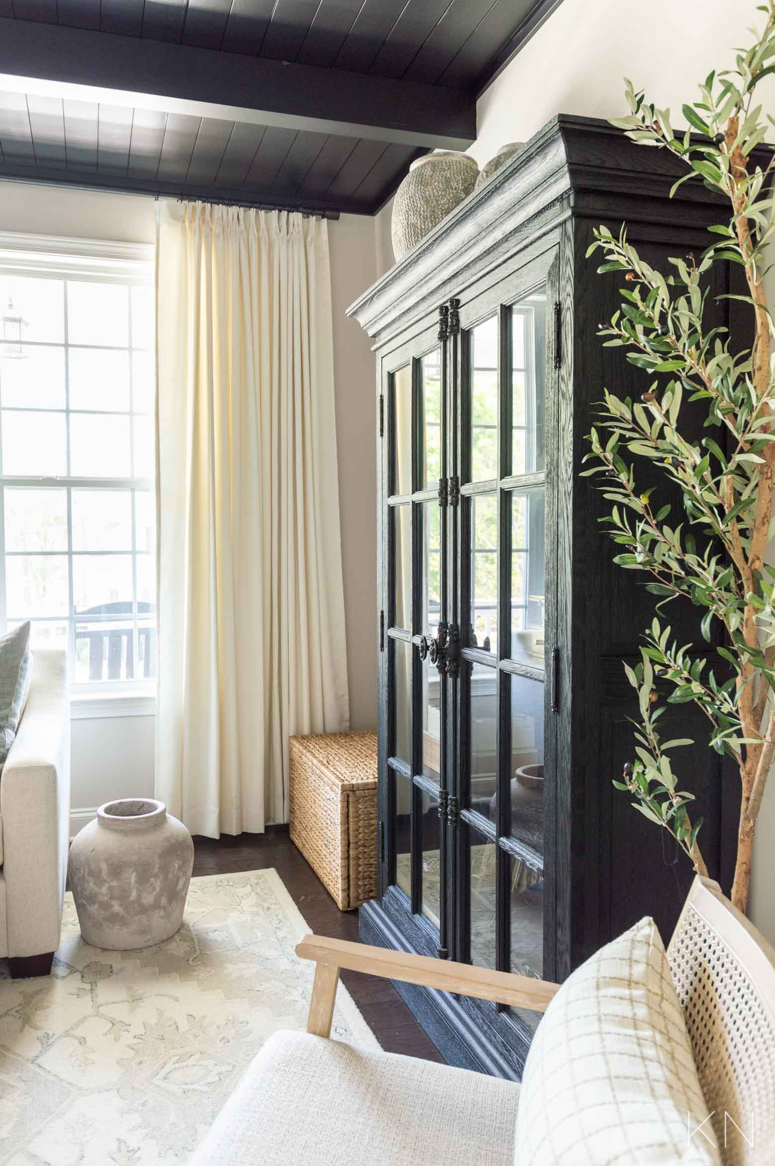 West Elm Curtain Rod - The Favorite Modern Way to Hang Custom Curtains
