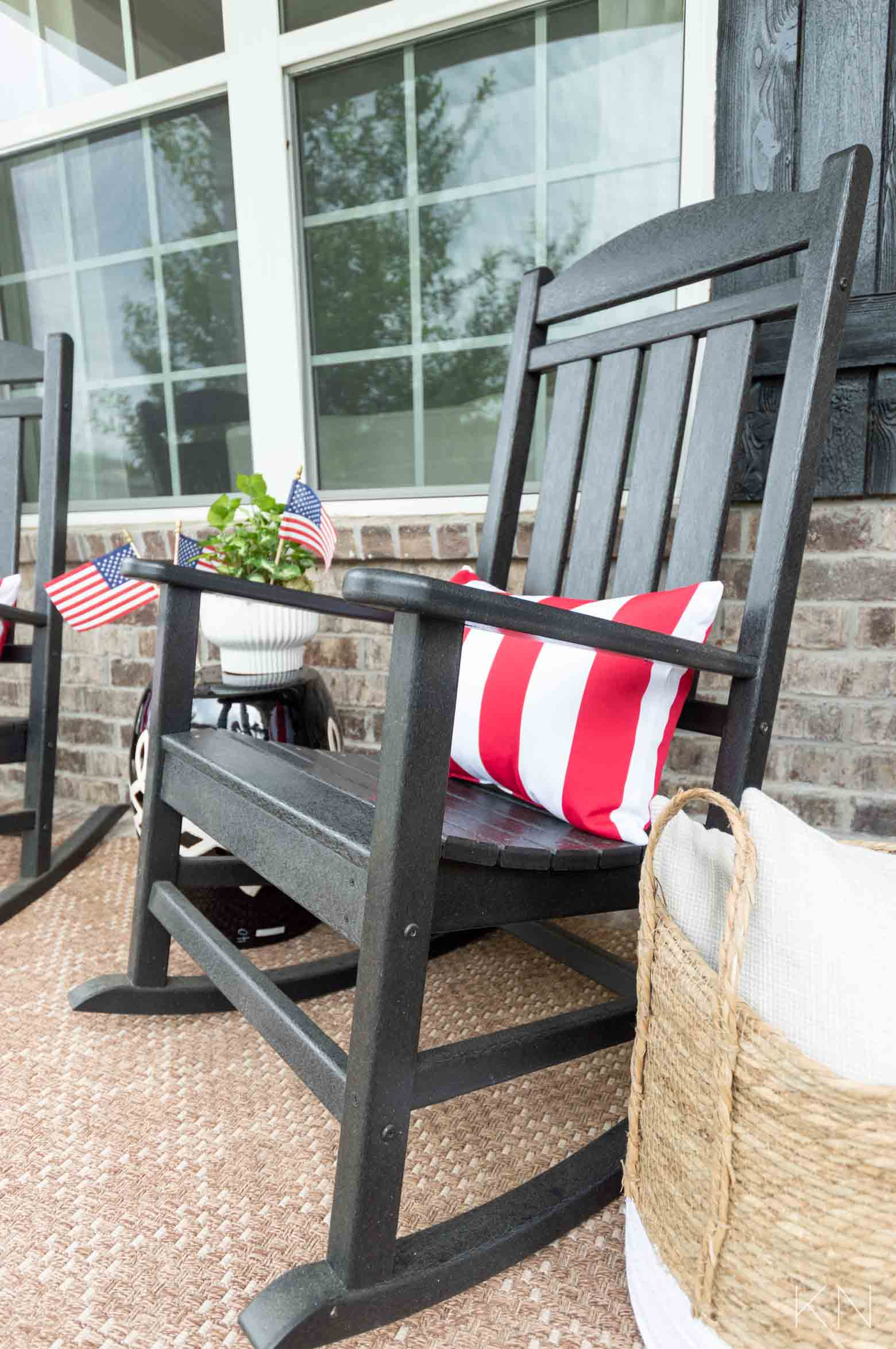 Fourth of July Outdoor Decor