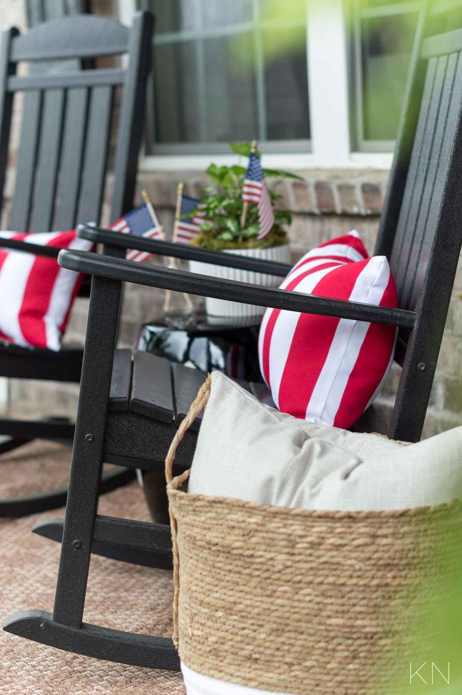 Fourth of July Porch Decor