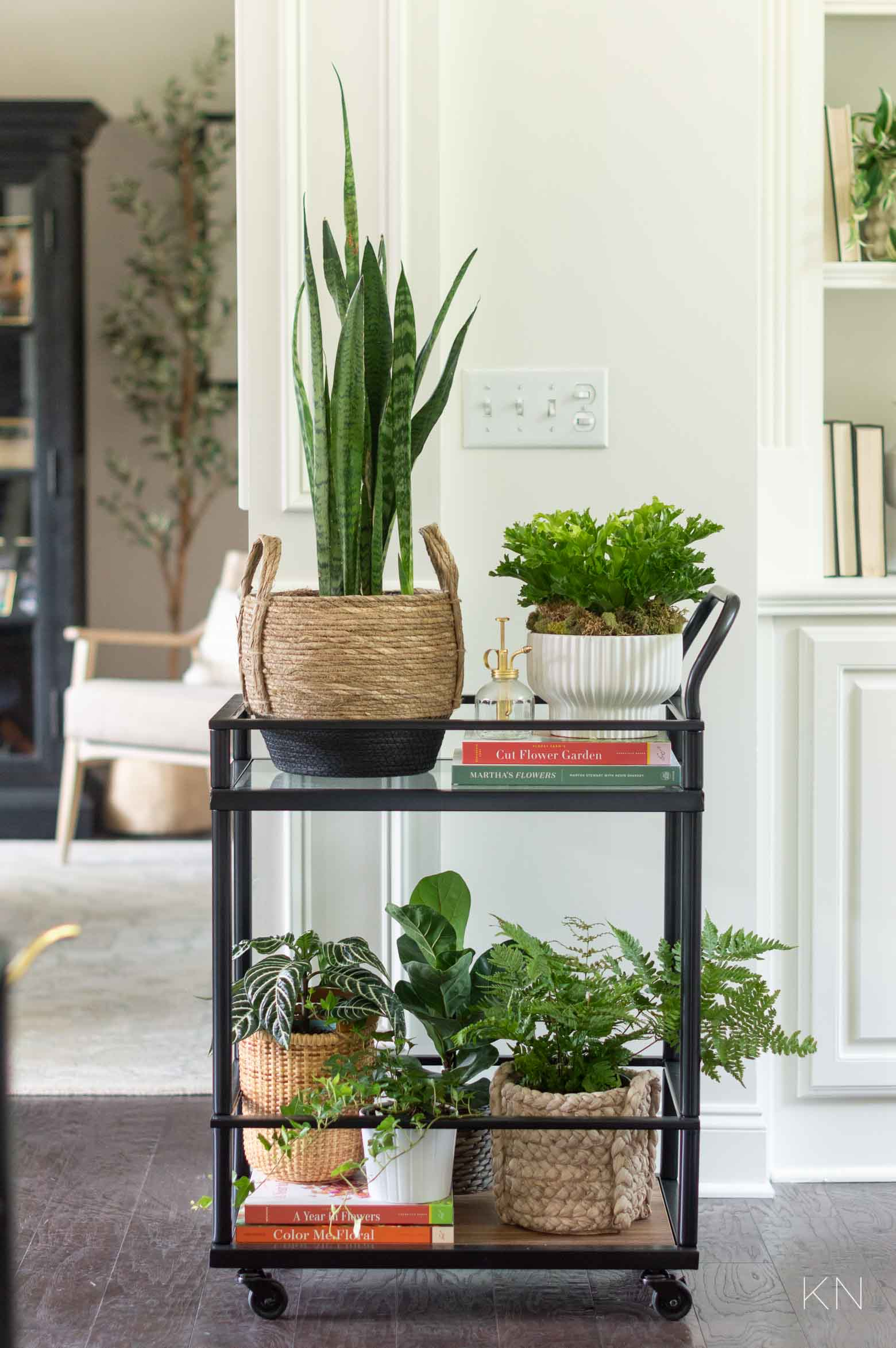 Tons of Ways to Use a Bar Cart in Your Home