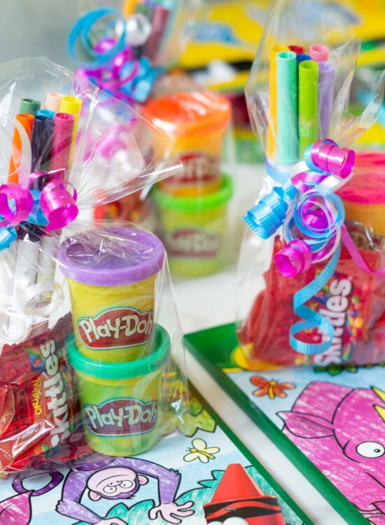 Preschool and Kids Party Favor Themes and Ideas!