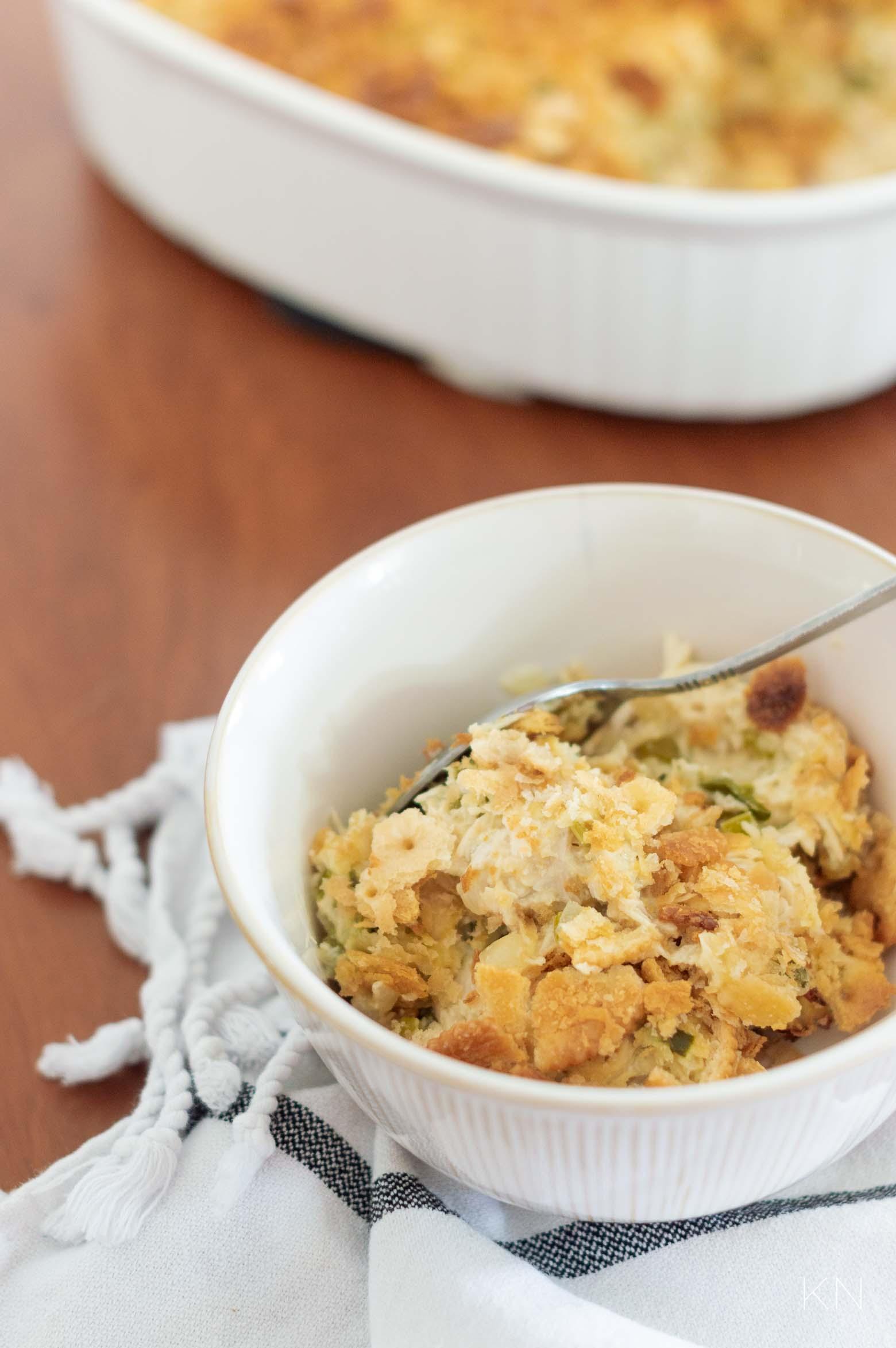 Easy Chicken Casserole -- the Perfect Week Night Dinner!