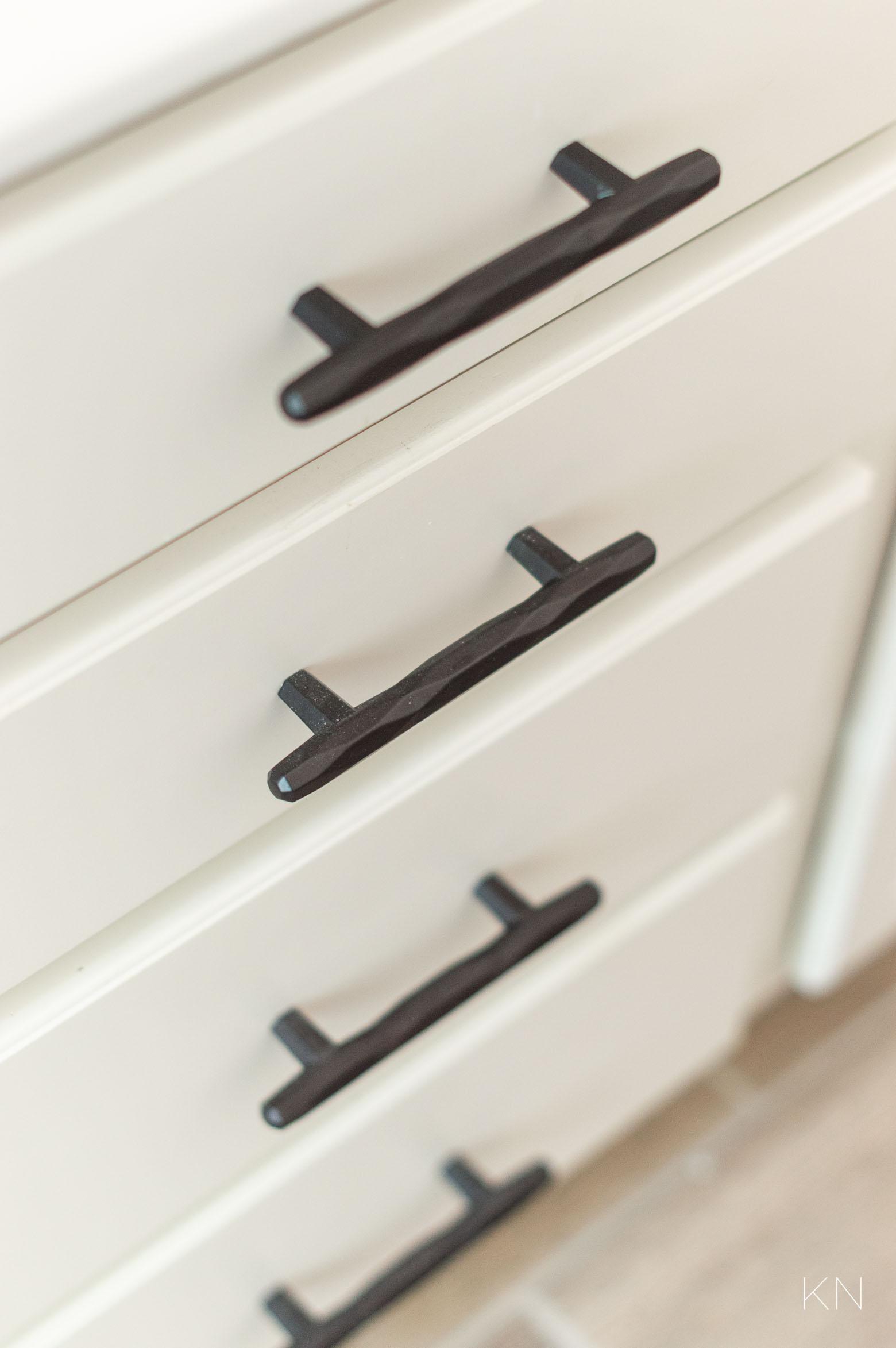 Drawer Pulls & Other Simple Ways to Update a Builder Grade Kitchen