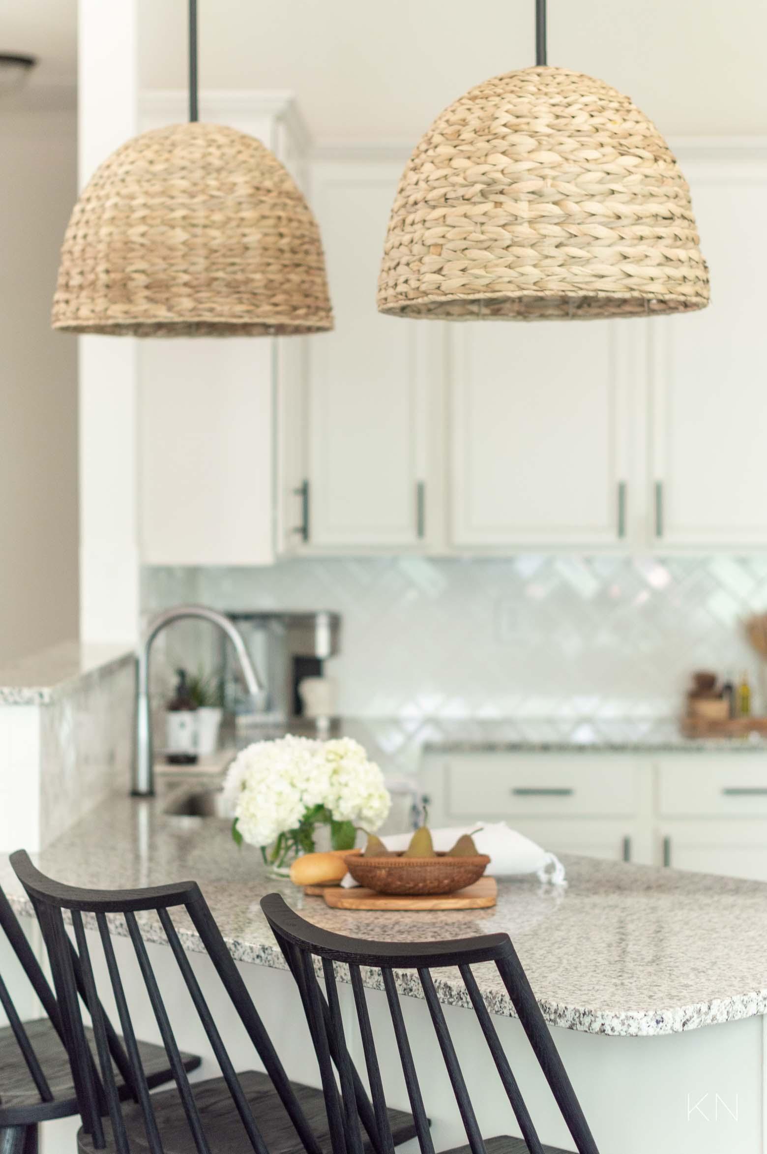 Switching Lights & Simple Ways to Update a Builder Grade Kitchen