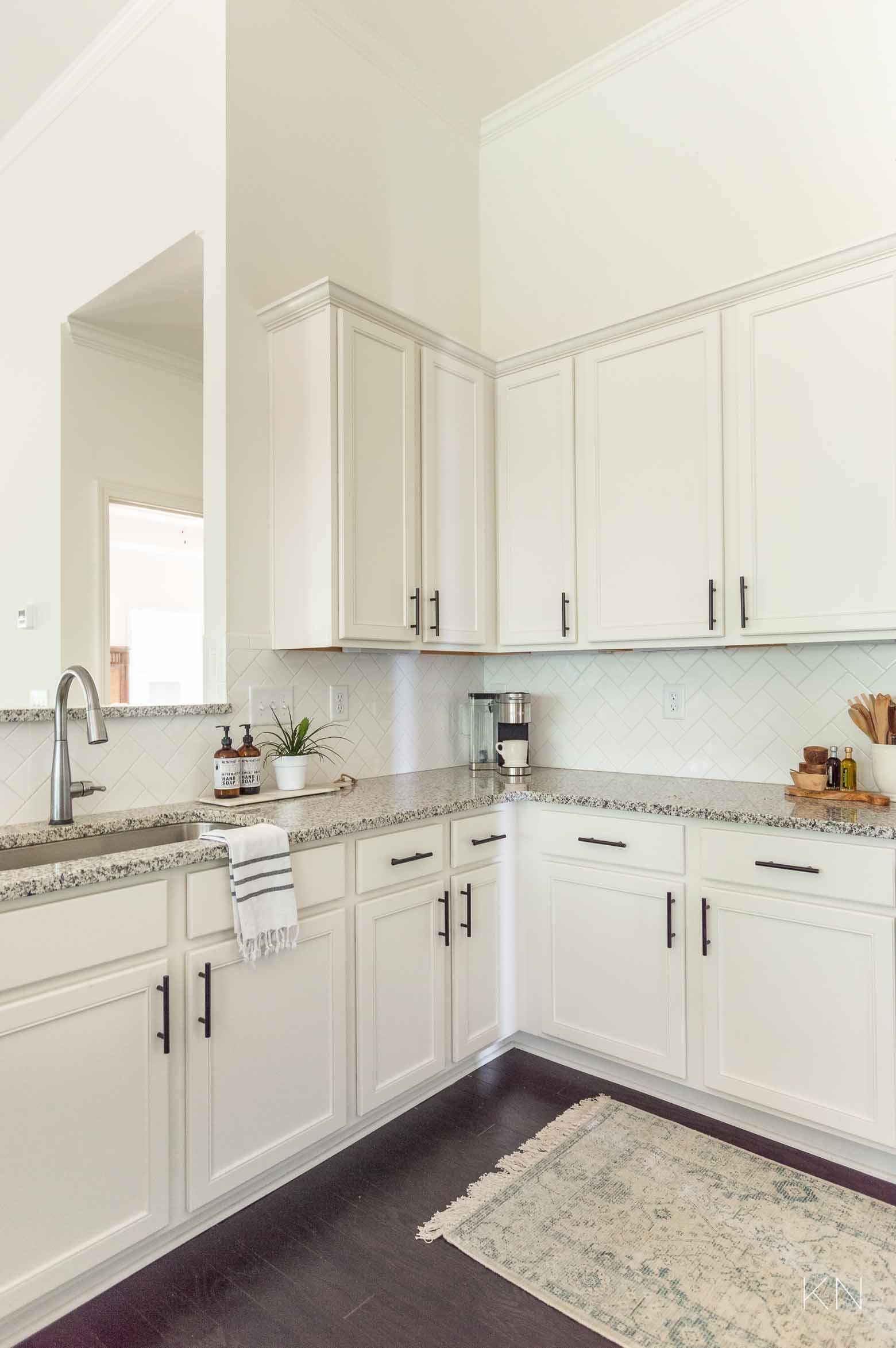 Easy White Kitchen Updates and Upgrades