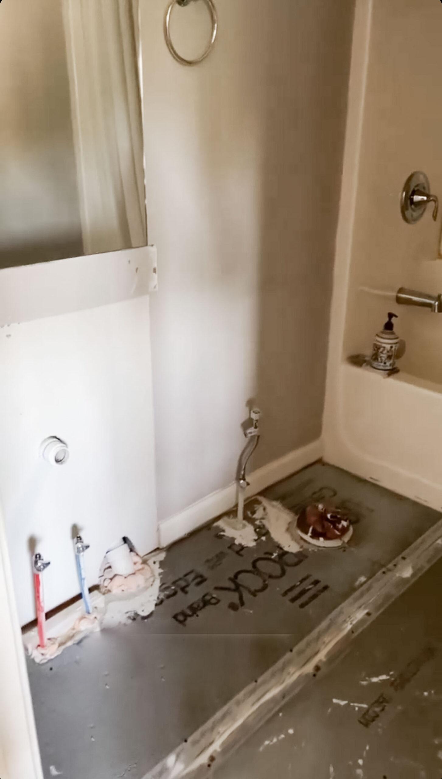 Guest Bathroom Remodel Before