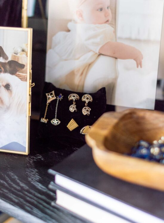 How to Incorporate Nostalgic and Special Family Items in a Glass Door Display Cabinet