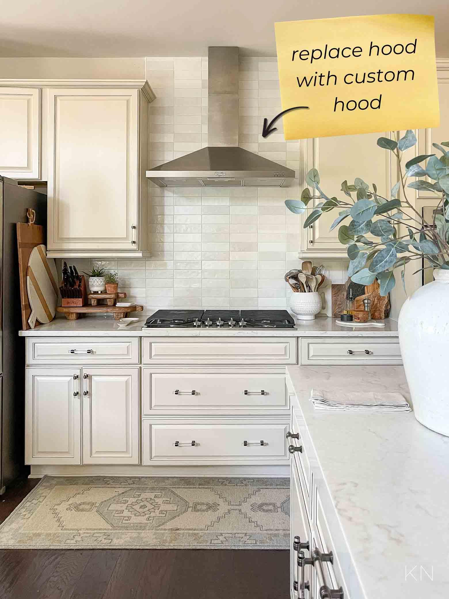 Plan to Upgrade Cream Kitchen