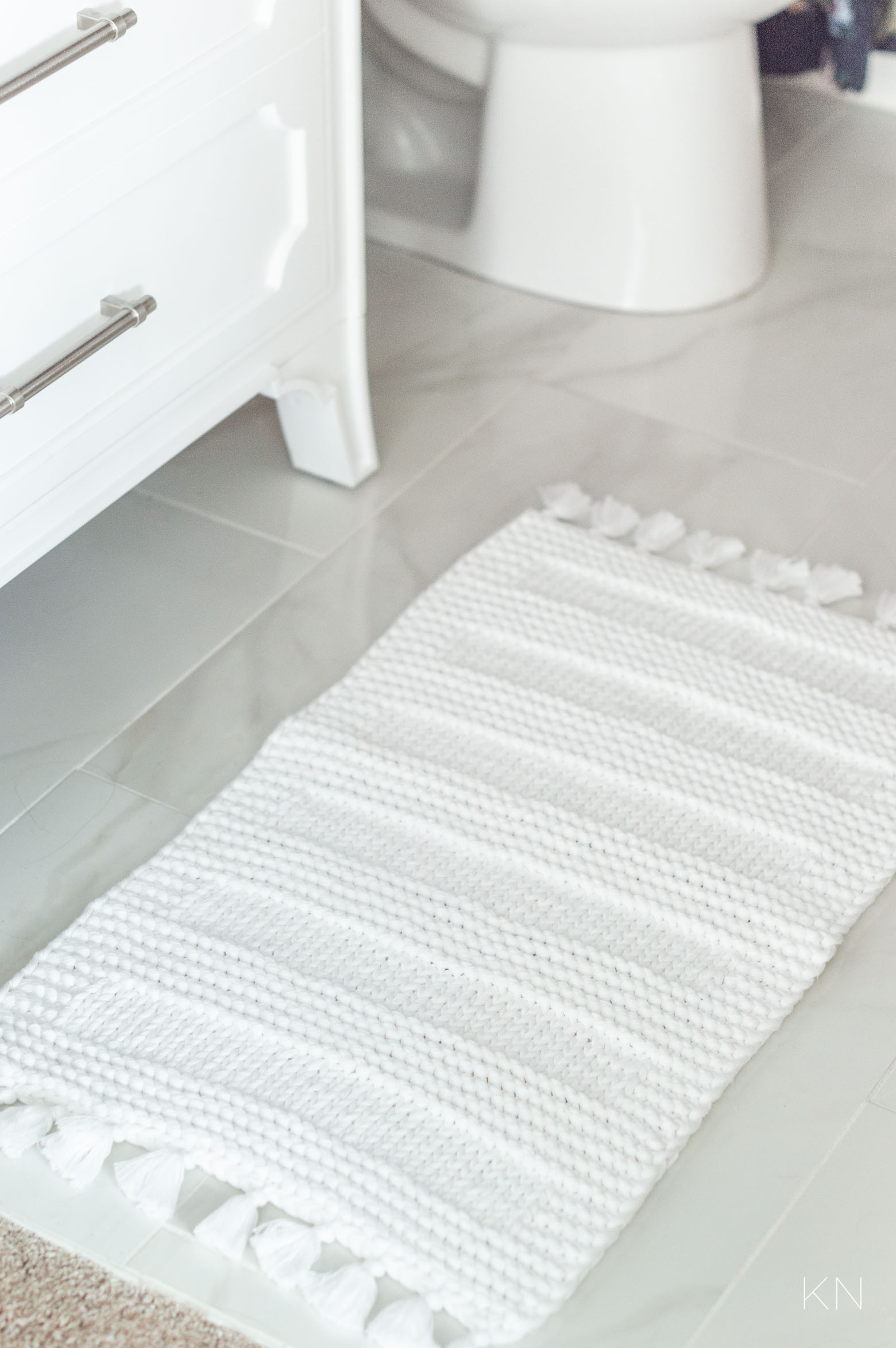 Bathroom Makeover Accessories and Decor