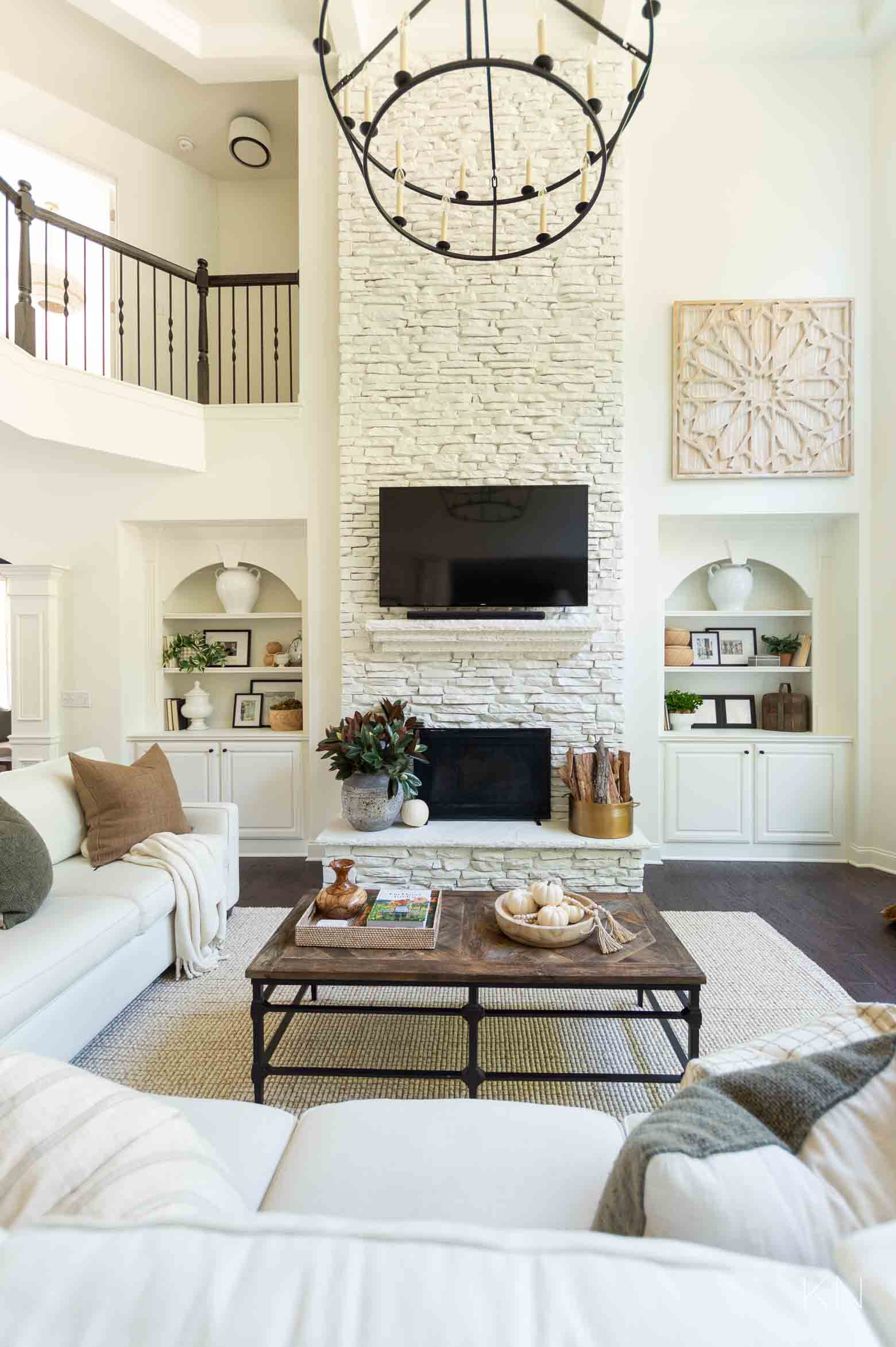 White Living Room Design and Decorating Inspiration