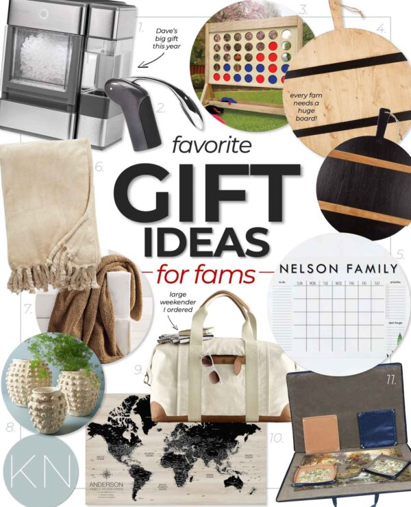 Christmas Gift Ideas for Families and Everyone for the Home