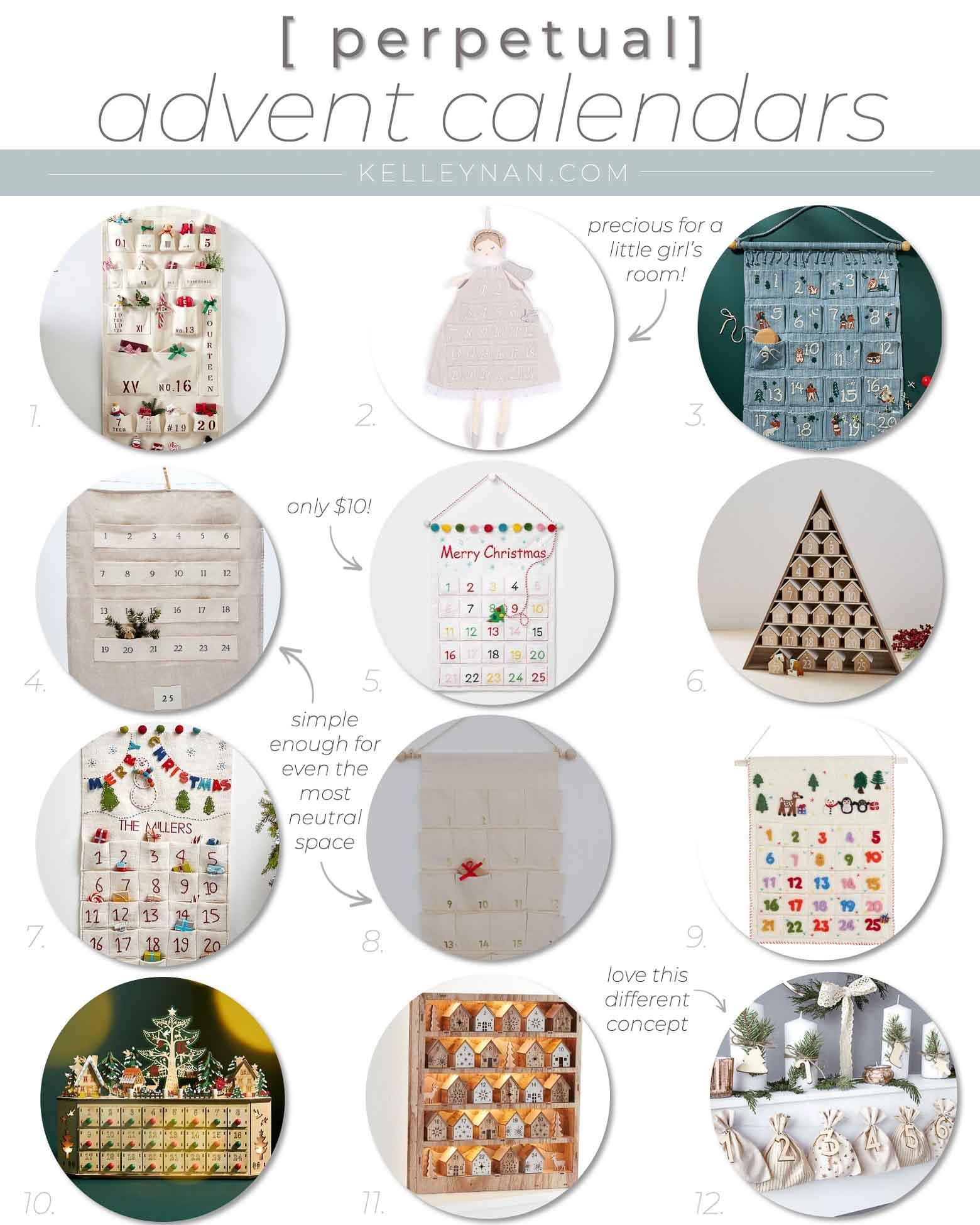 2021 Christmas Decor -- Favorite Advent Calendars