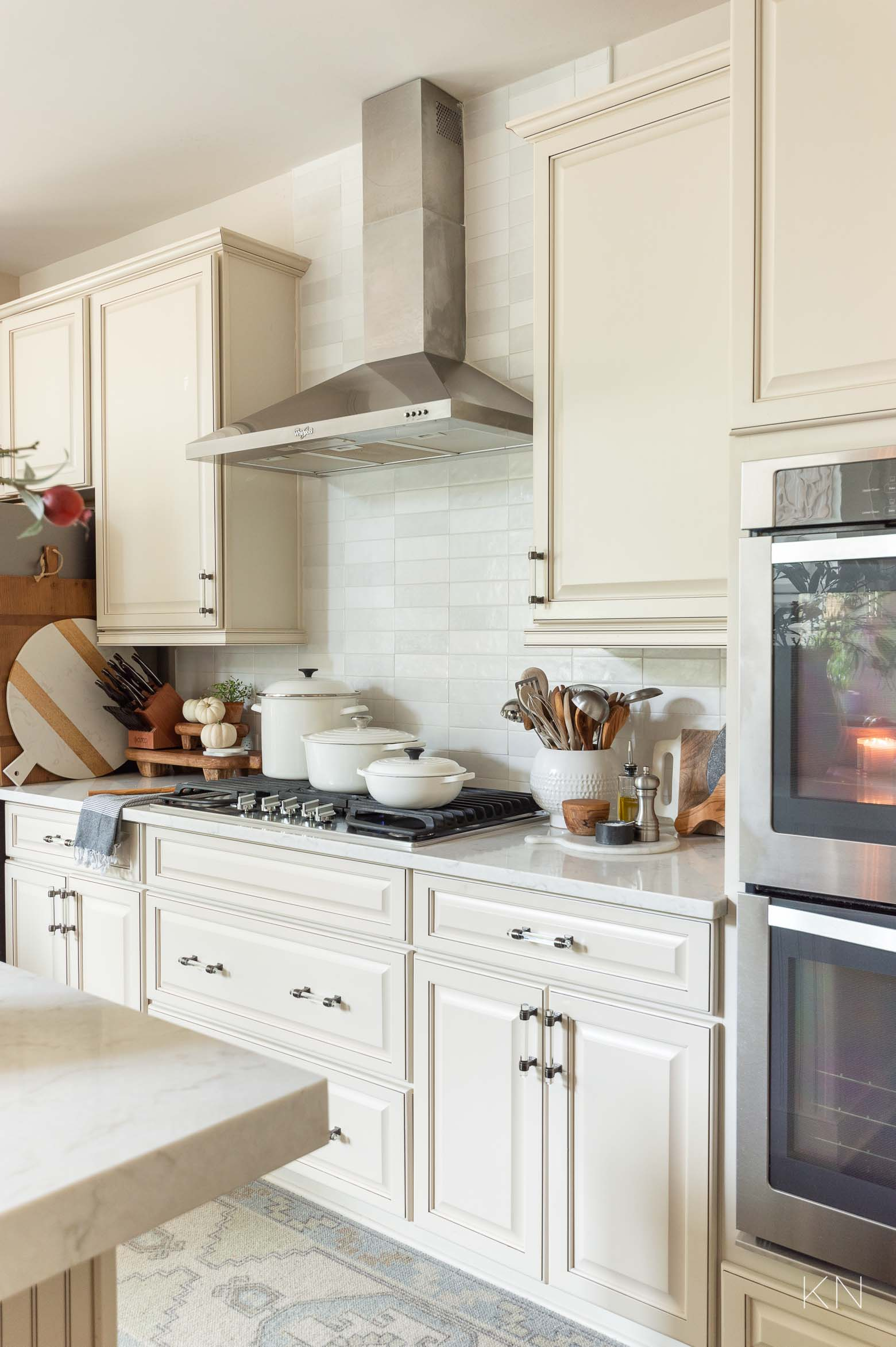 Neutral Fall Kitchen Decor and IDeas
