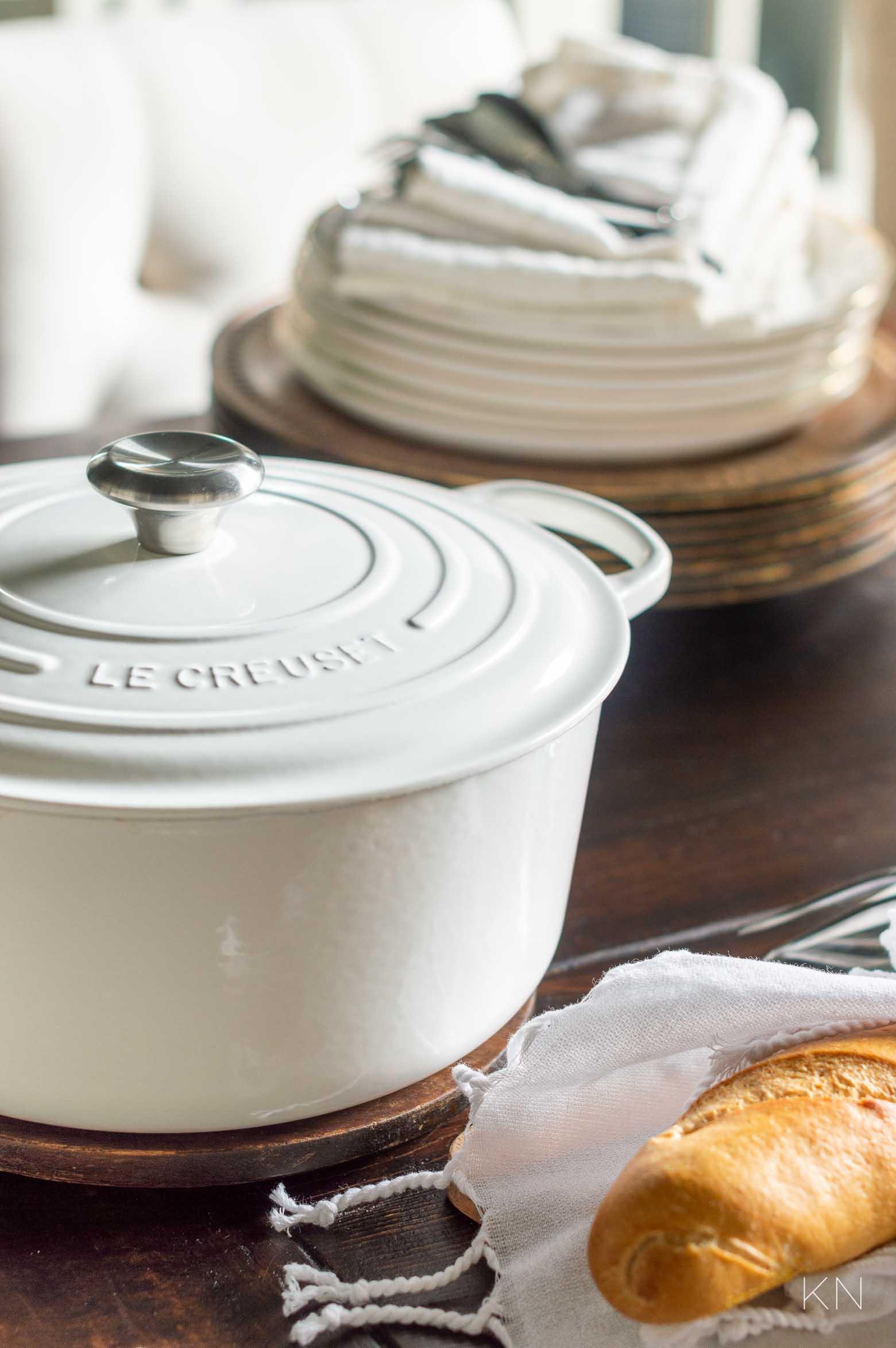Favorite Kitchen Piece -- Le Creuset